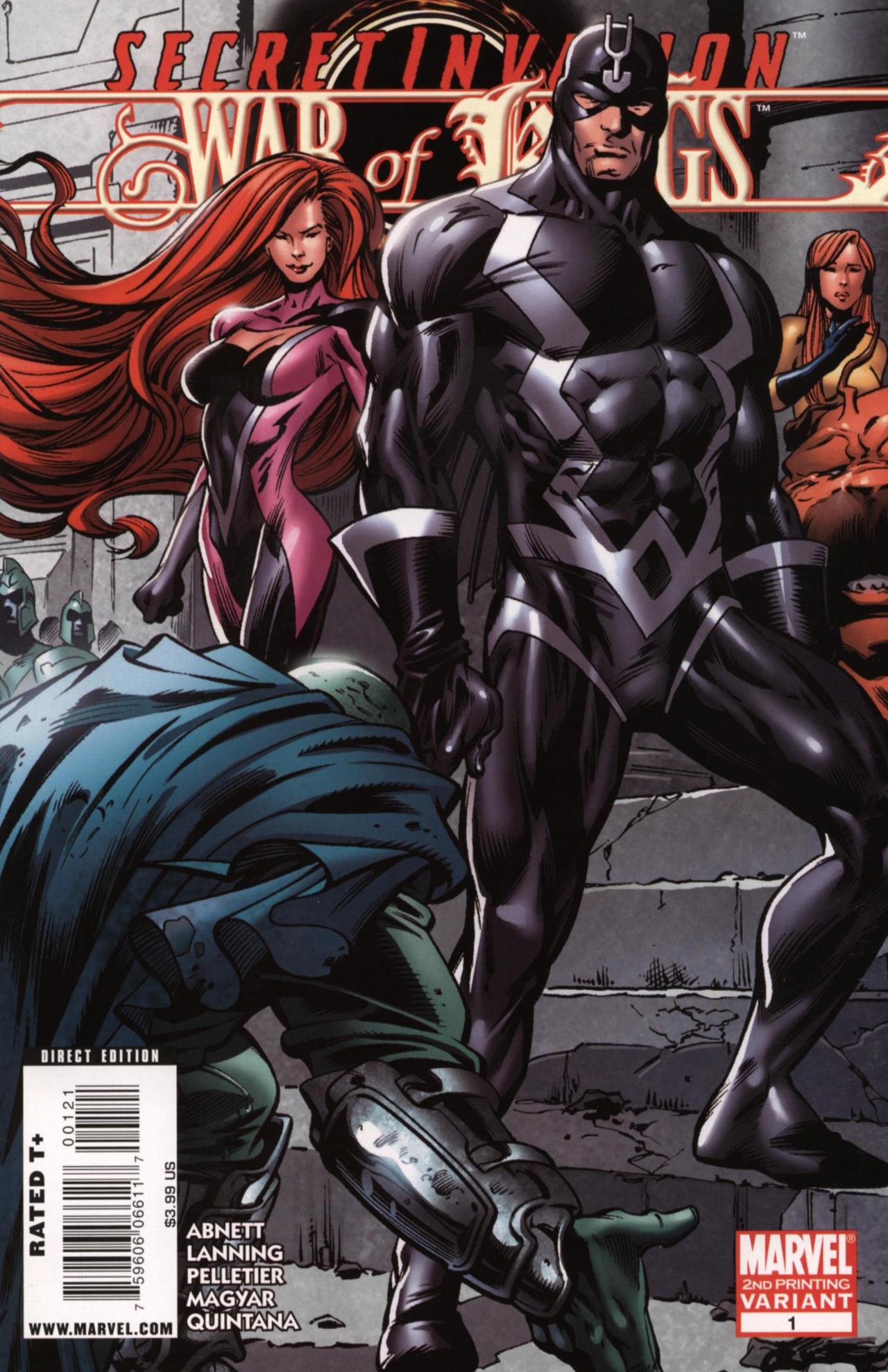Read online Secret Invasion: War of Kings comic -  Issue # Full - 2