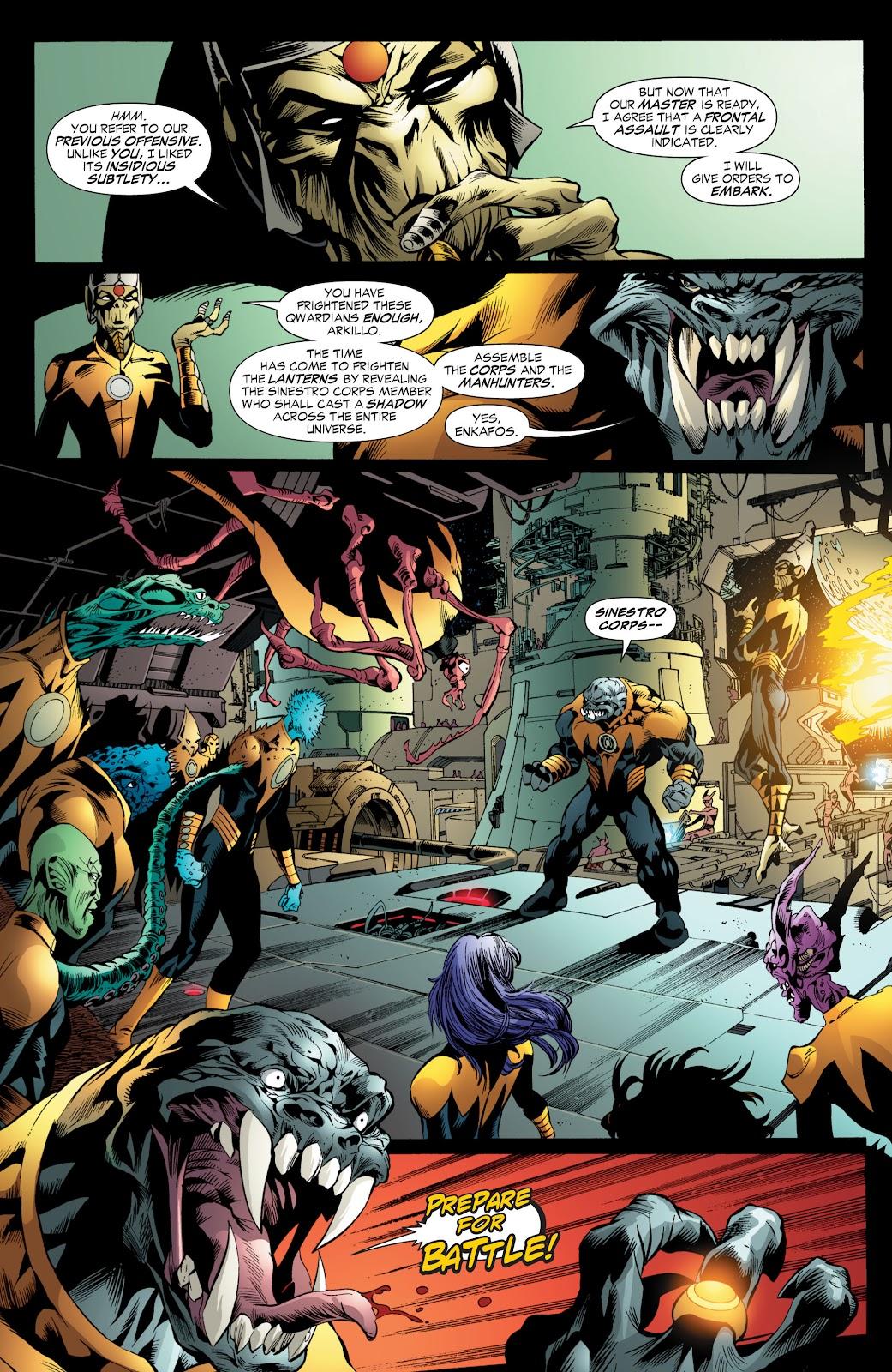 Green Lantern: The Sinestro Corps War Full #1 - English 82