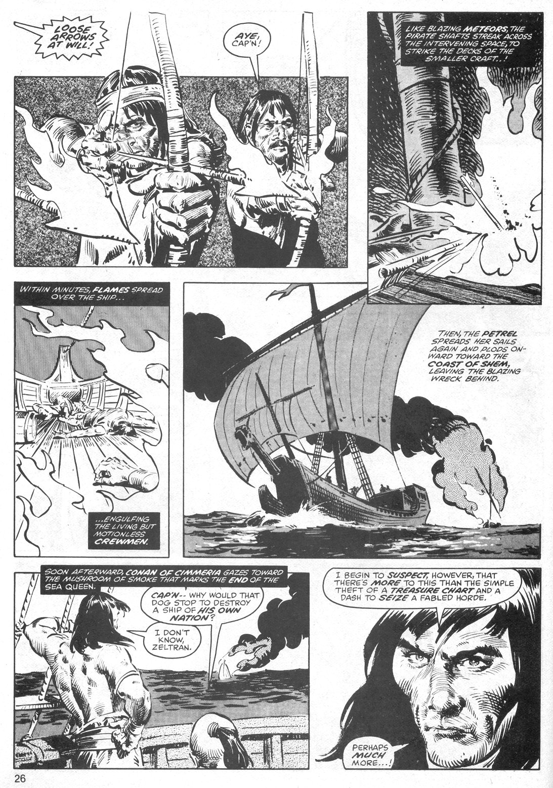 The Savage Sword Of Conan Issue #40 #41 - English 26