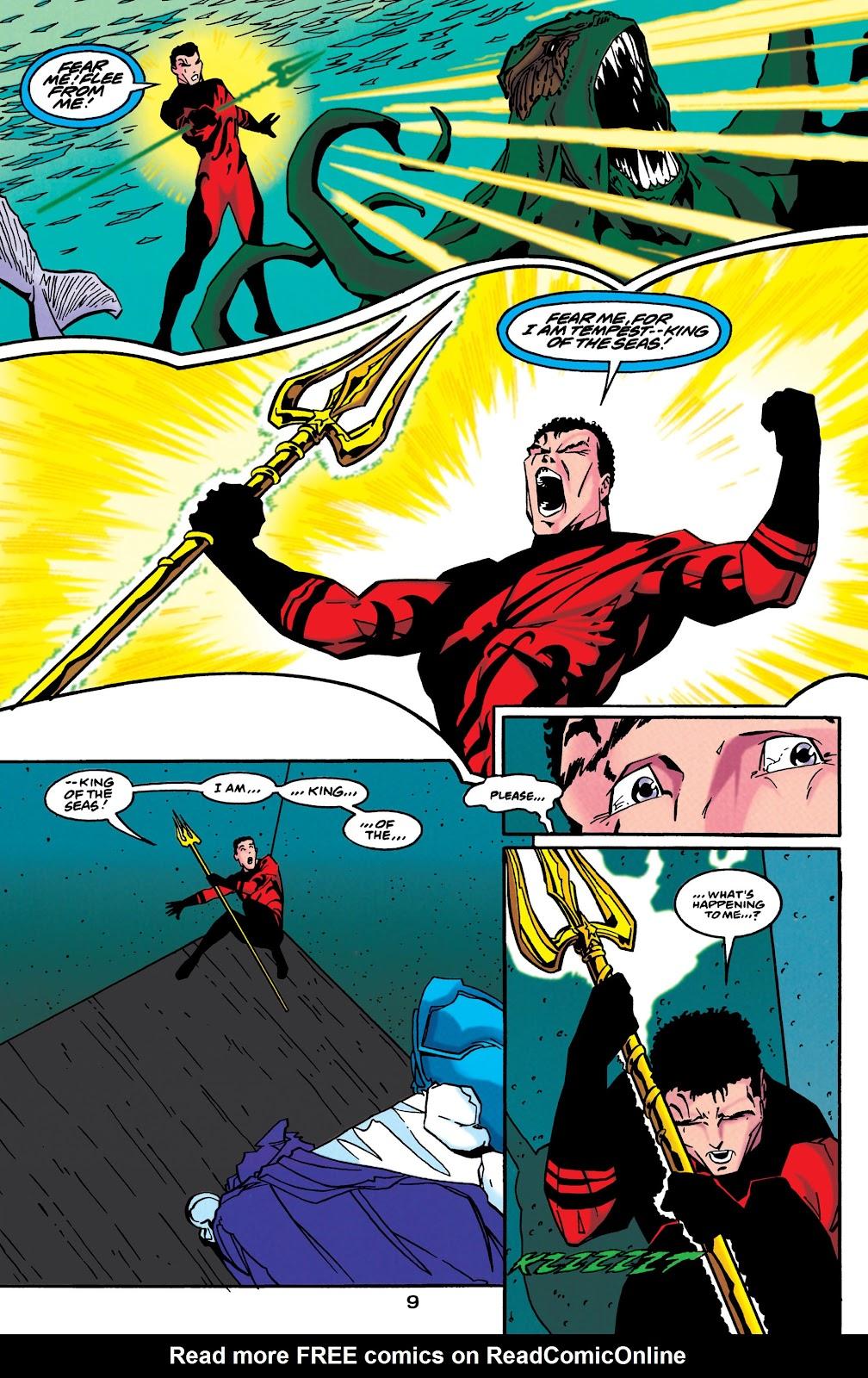 Aquaman (1994) Issue #49 #55 - English 10