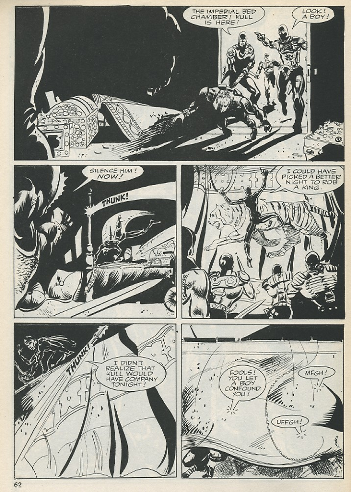 The Savage Sword Of Conan Issue #131 #132 - English 62