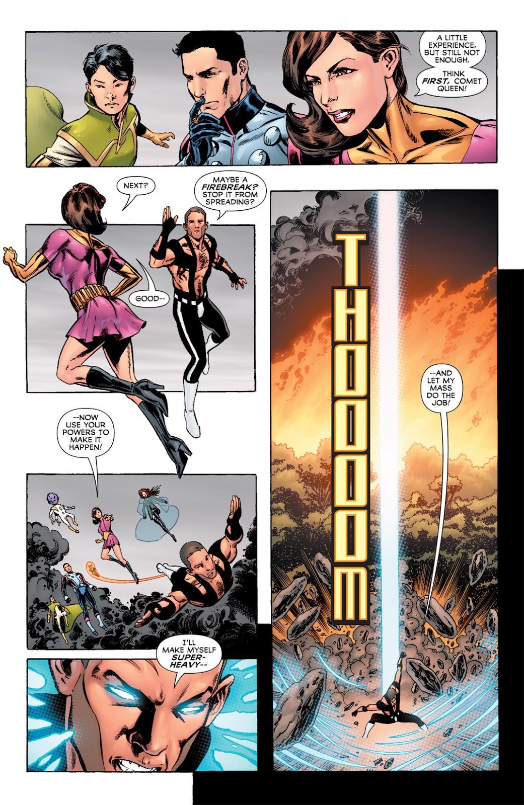 Legion of Super-Heroes (2010) Issue #6 #7 - English 22