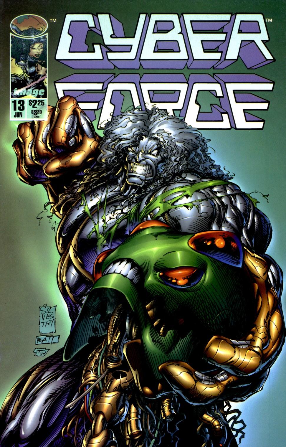 Cyberforce (1993) 13 Page 1
