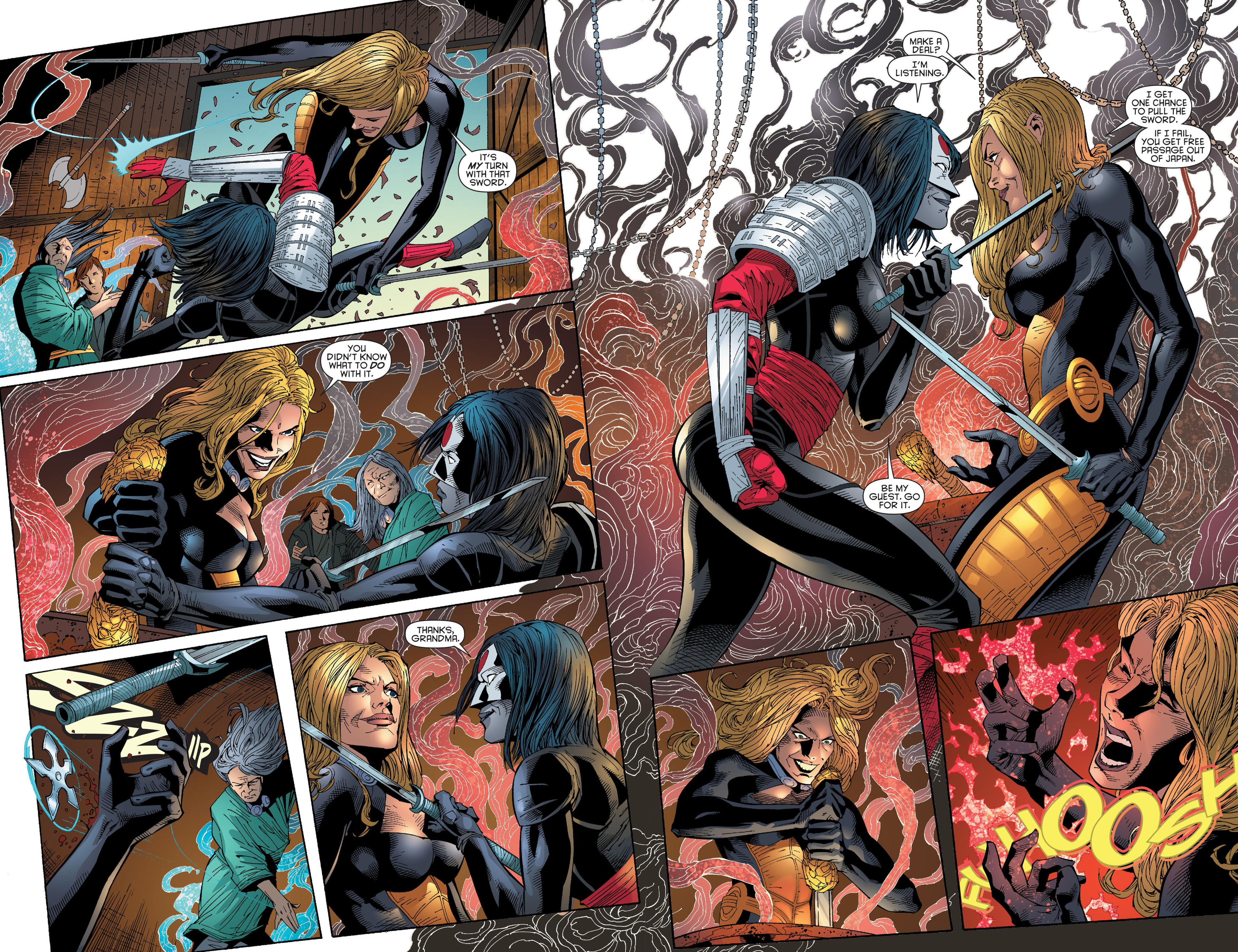 Read online Katana comic -  Issue #6 - 16