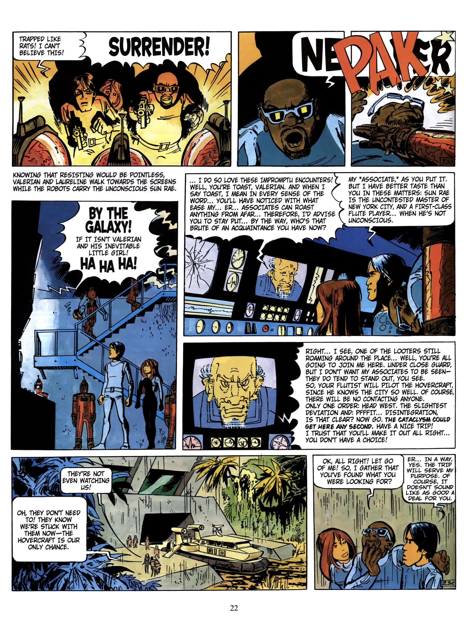 Valerian and Laureline #1 #23 - English 23