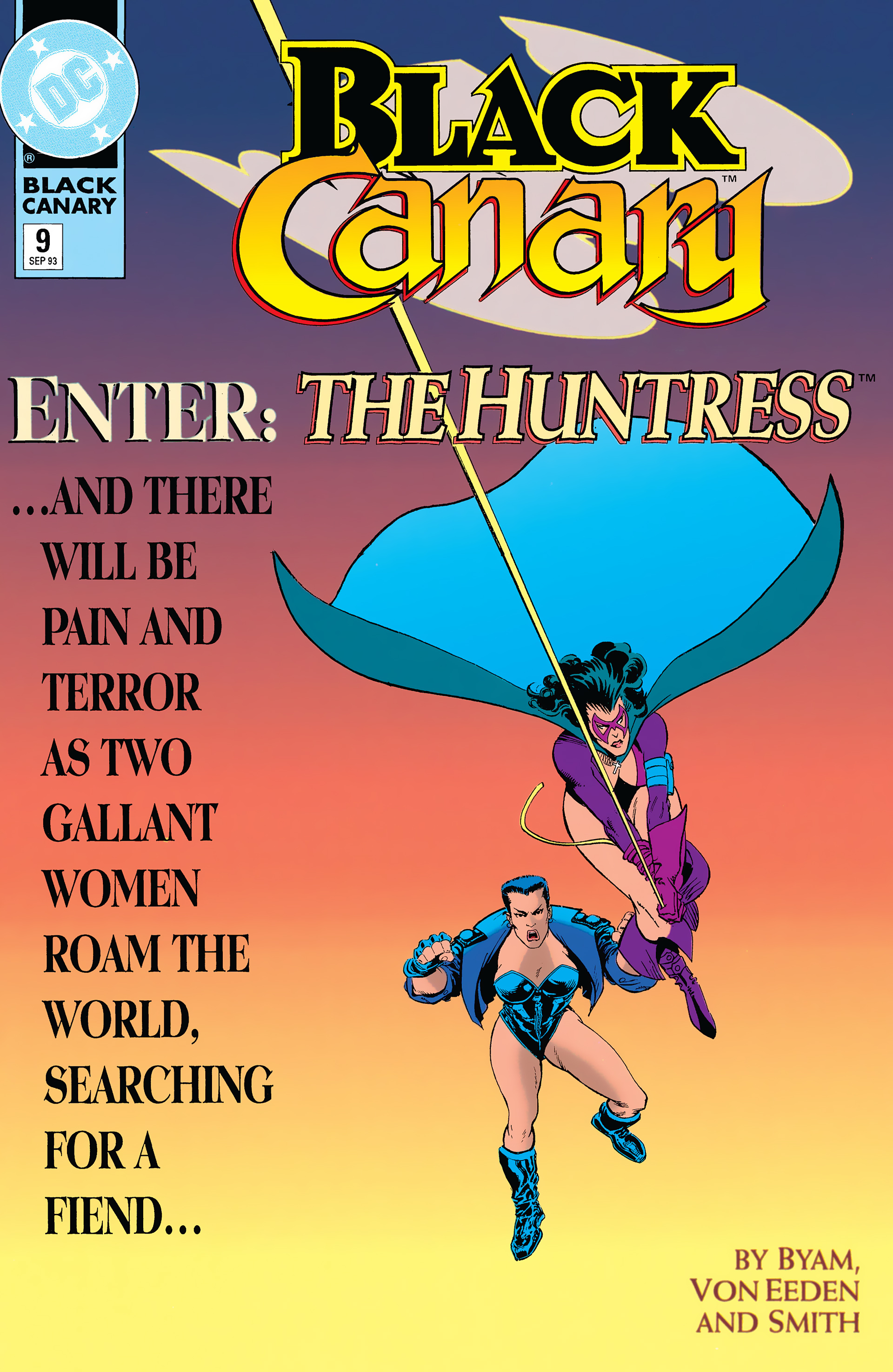 Black Canary (1993) 9 Page 1