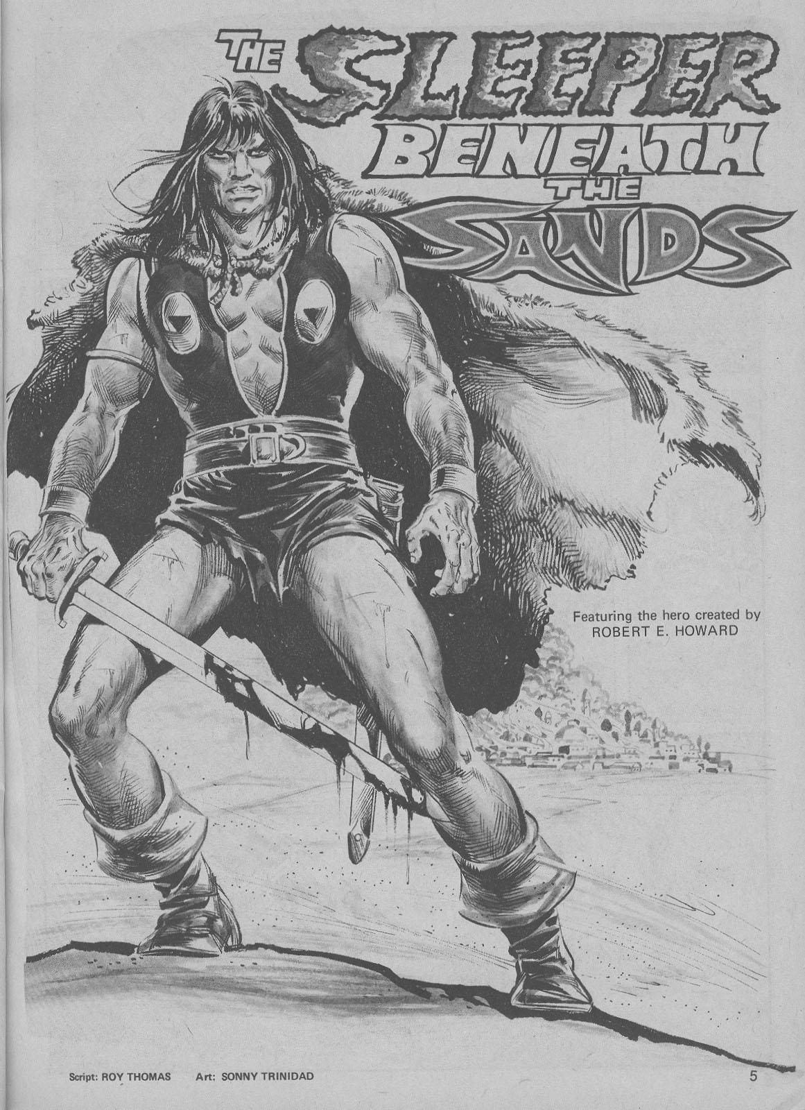 The Savage Sword Of Conan Issue #6 #7 - English 5