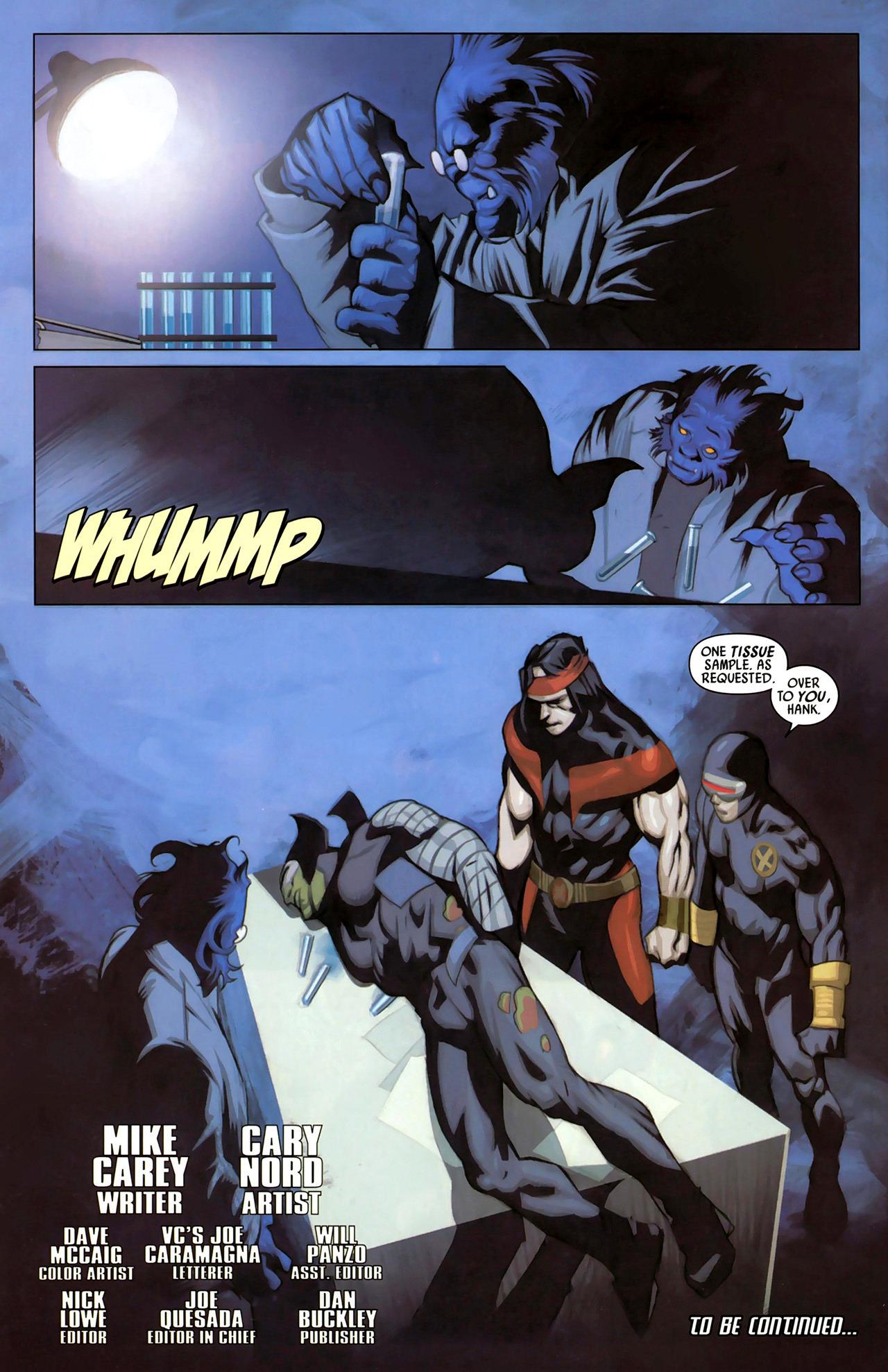 Read online Secret Invasion: X-Men comic -  Issue #2 - 24
