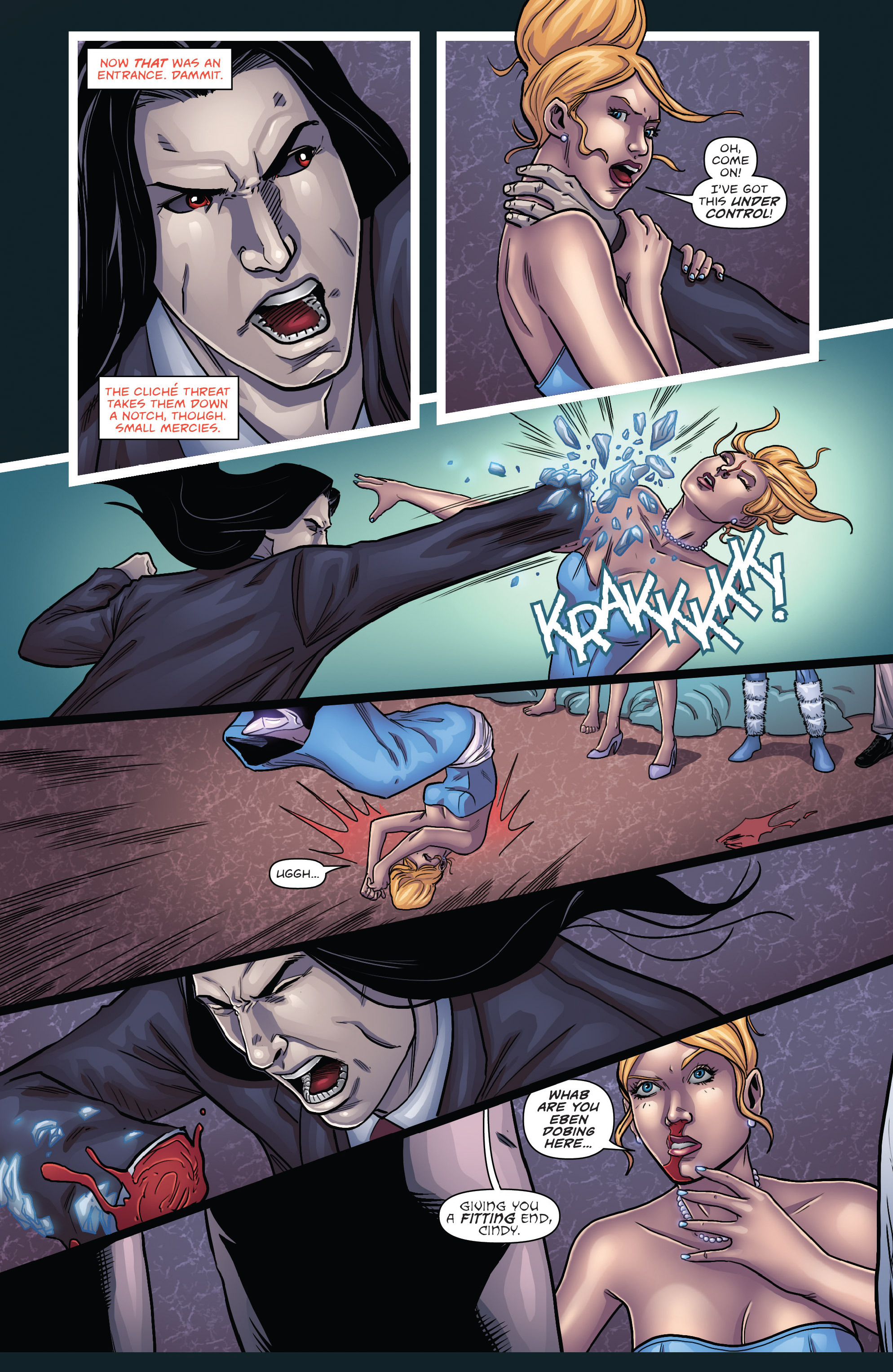 Read online Grimm Fairy Tales presents Cinderella: Age of Darkness comic -  Issue #3 - 14