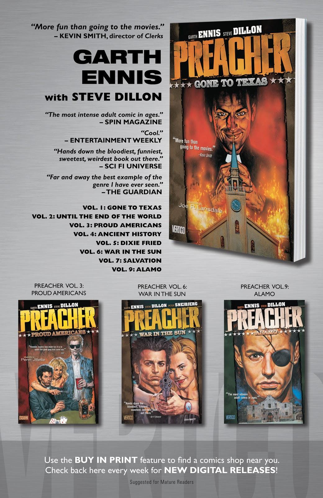Preacher Issue #42 #51 - English 25