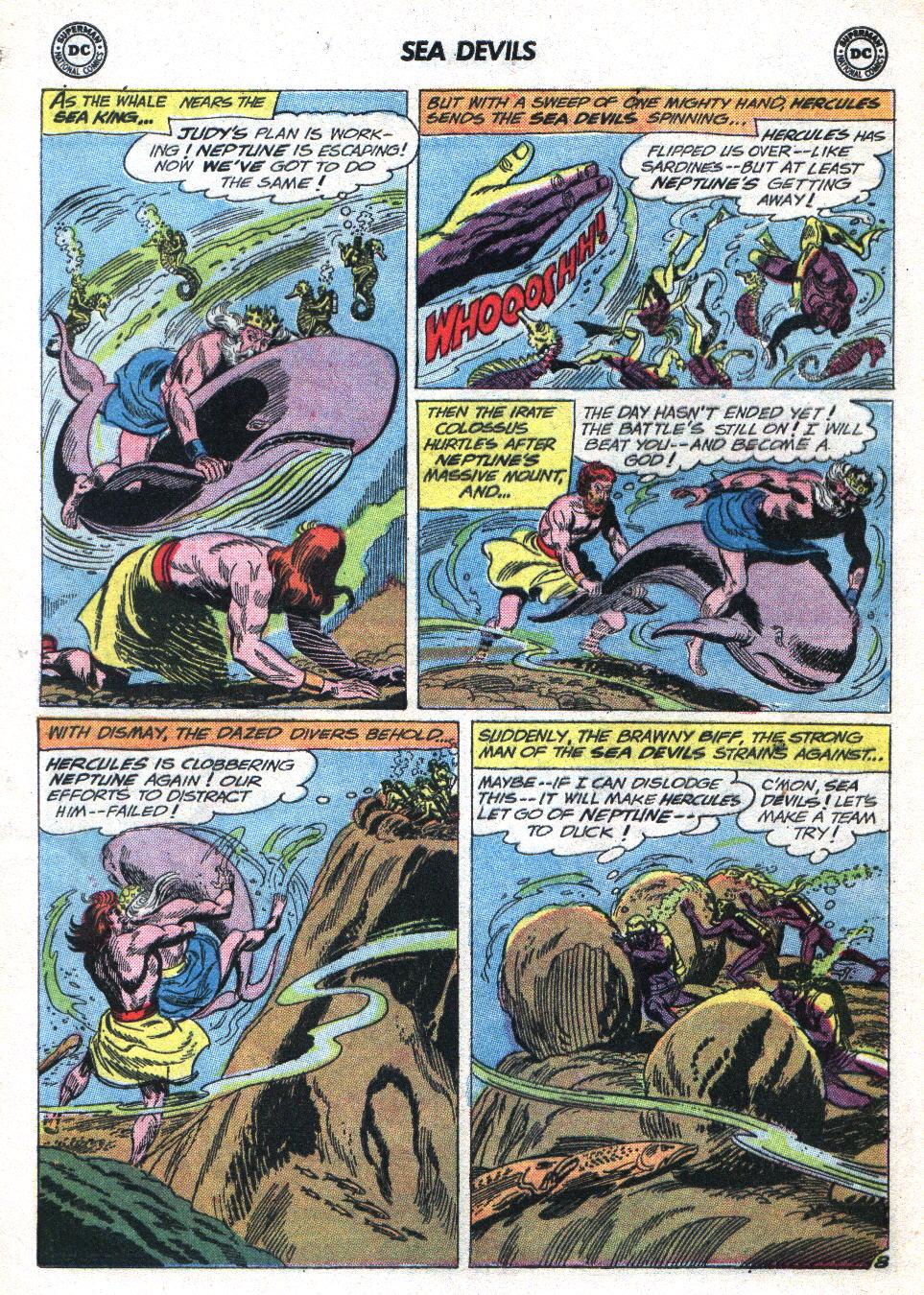 Read online Sea Devils comic -  Issue #14 - 12