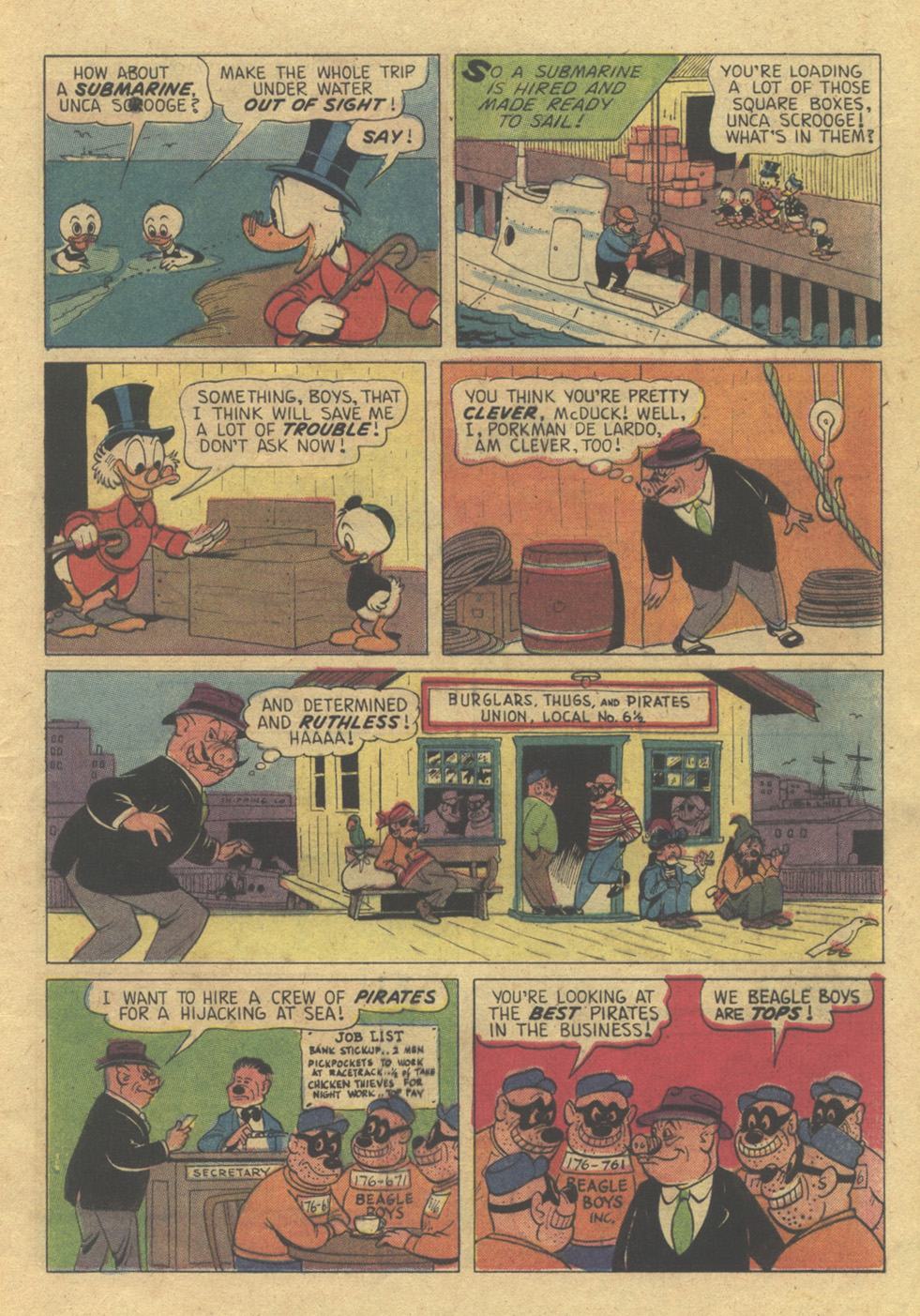 Uncle Scrooge (1953) Issue #98 #98 - English 9
