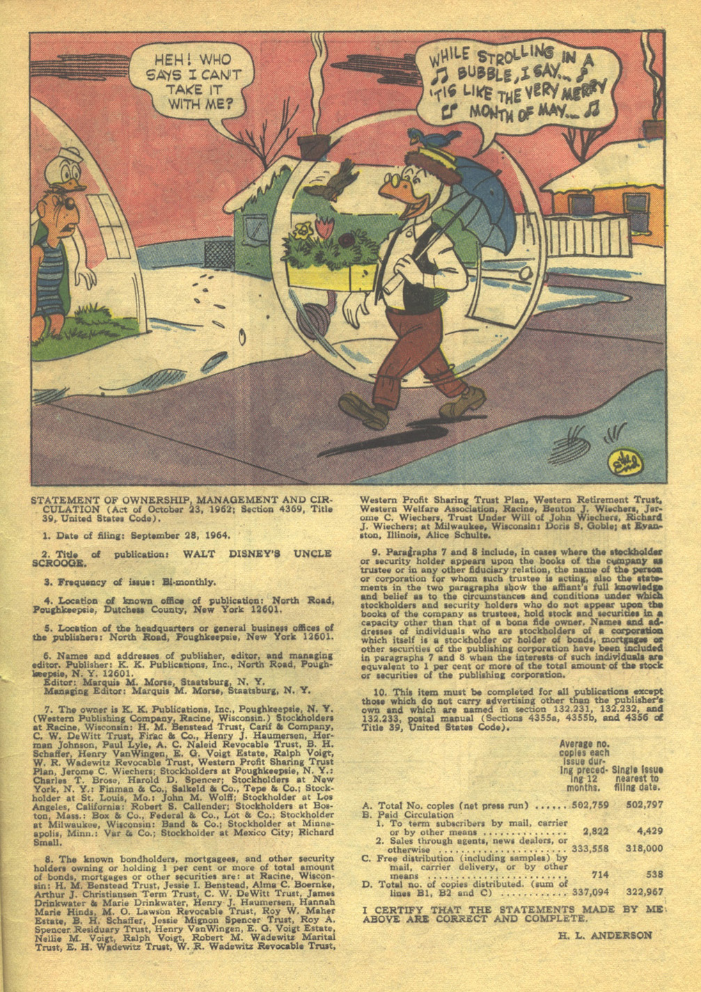 Uncle Scrooge (1953) Issue #56 #56 - English 33