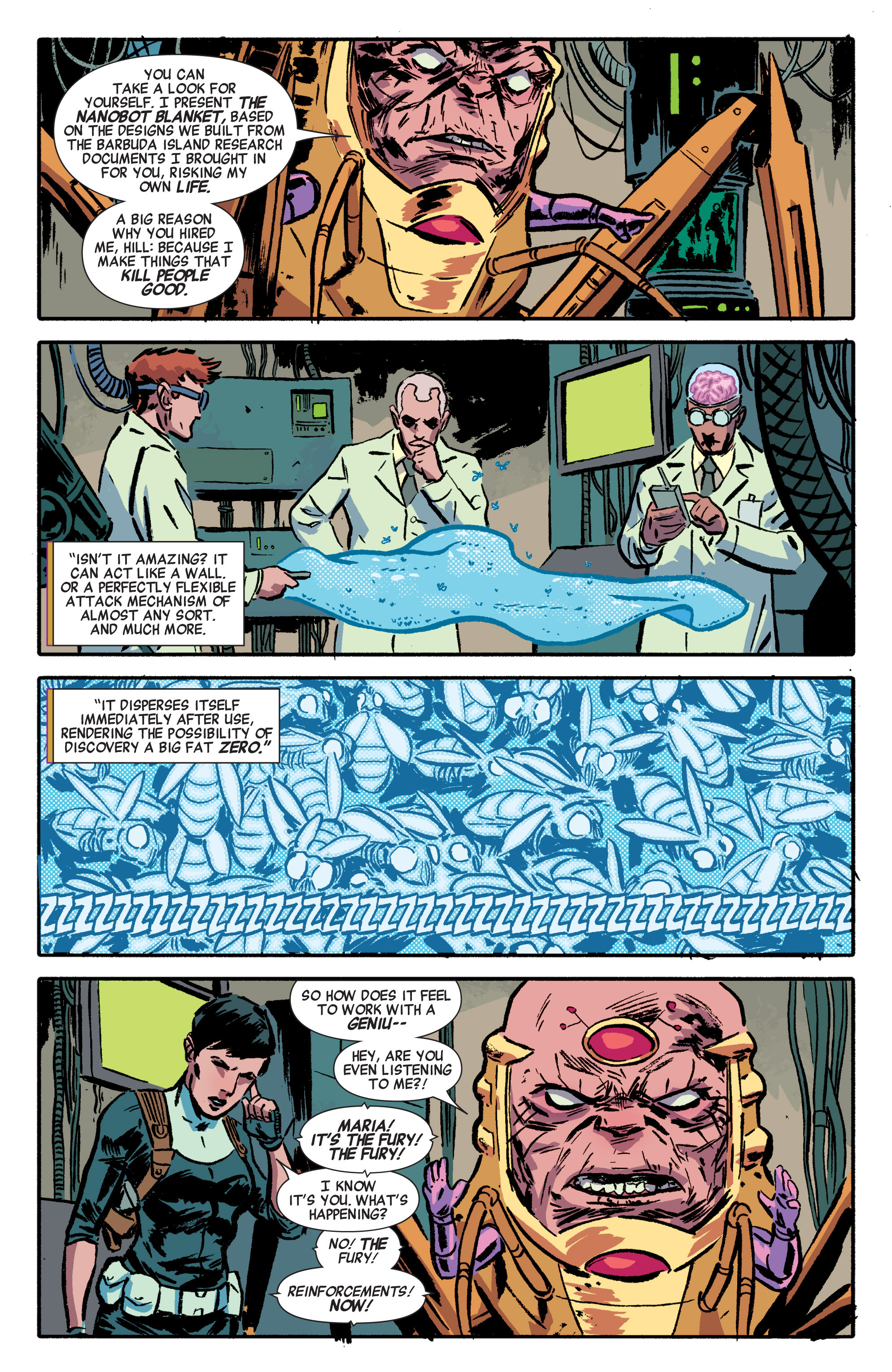Read online Secret Avengers (2014) comic -  Issue #1 - 9