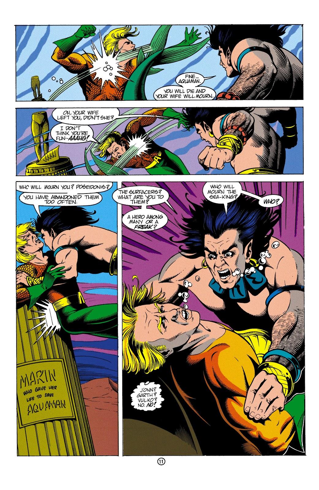 Aquaman (1991) Issue #4 #4 - English 12