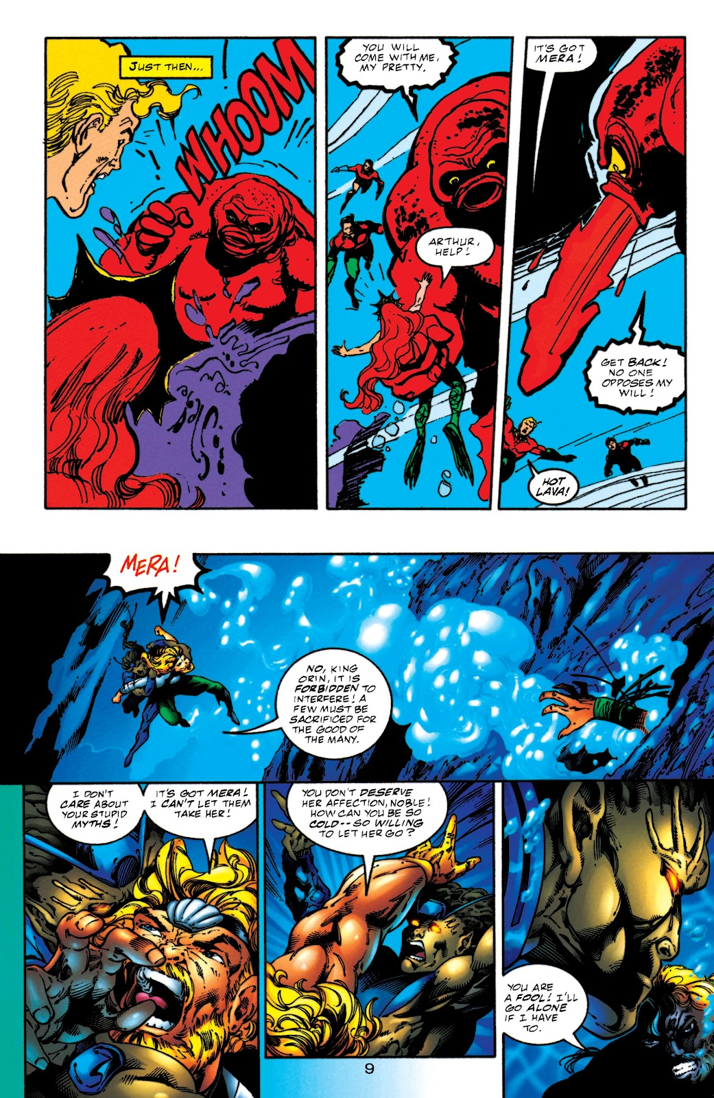 Aquaman (1994) Issue #52 #58 - English 9