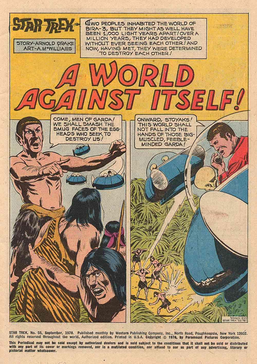 Star Trek (1967) #55 #55 - English 2
