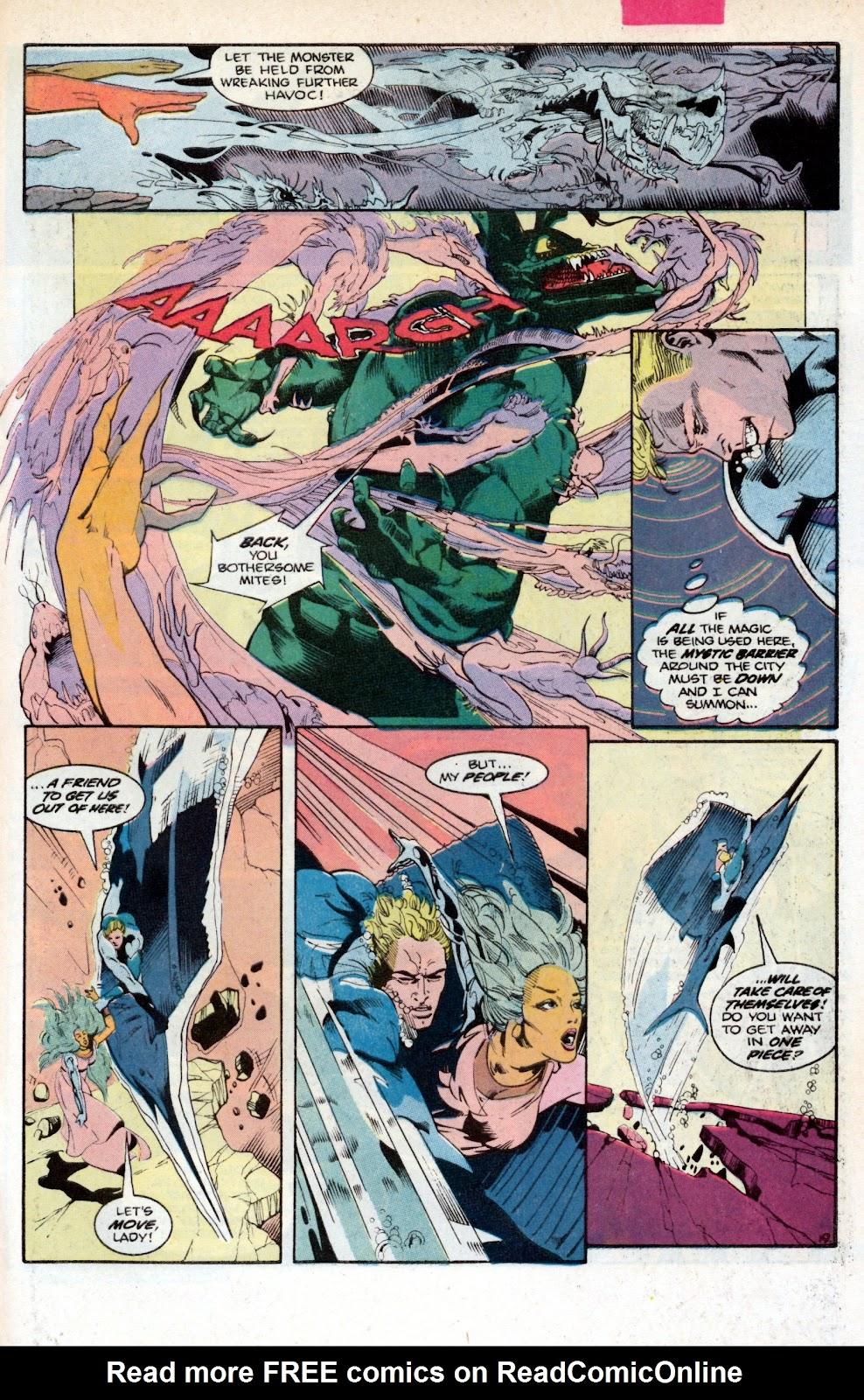 Aquaman (1986) Issue #2 #2 - English 27