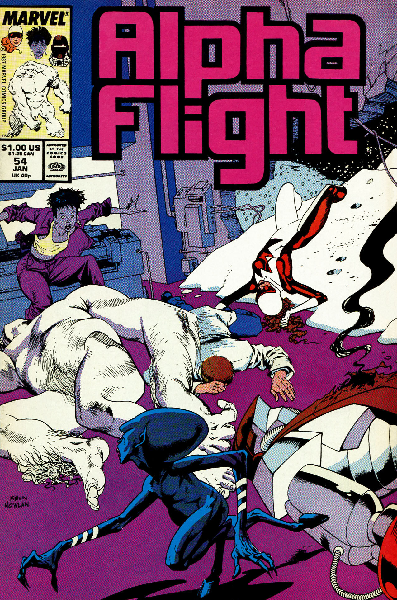 Alpha Flight (1983) 54 Page 1