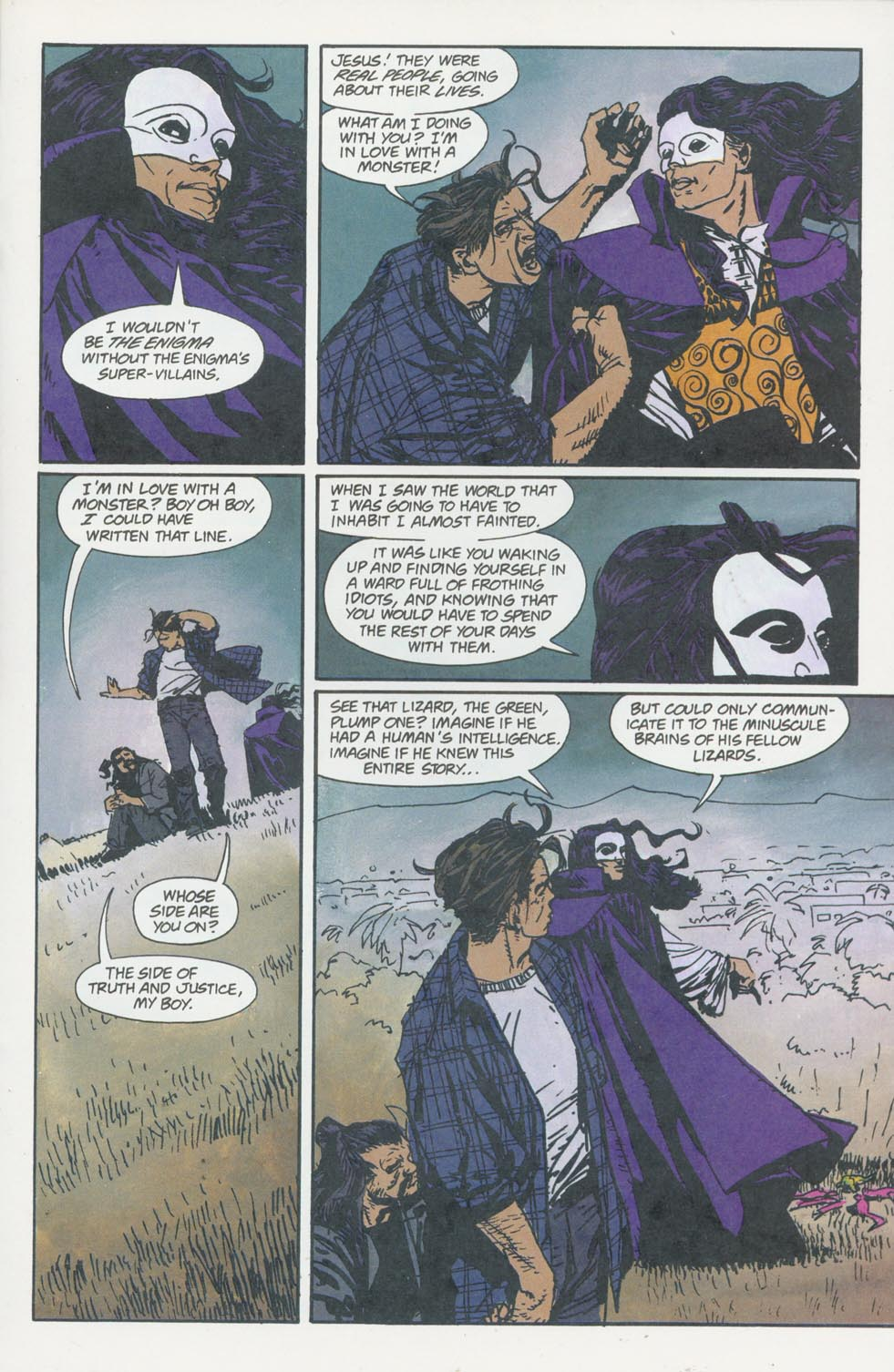 Read online Enigma comic -  Issue #8 - 18