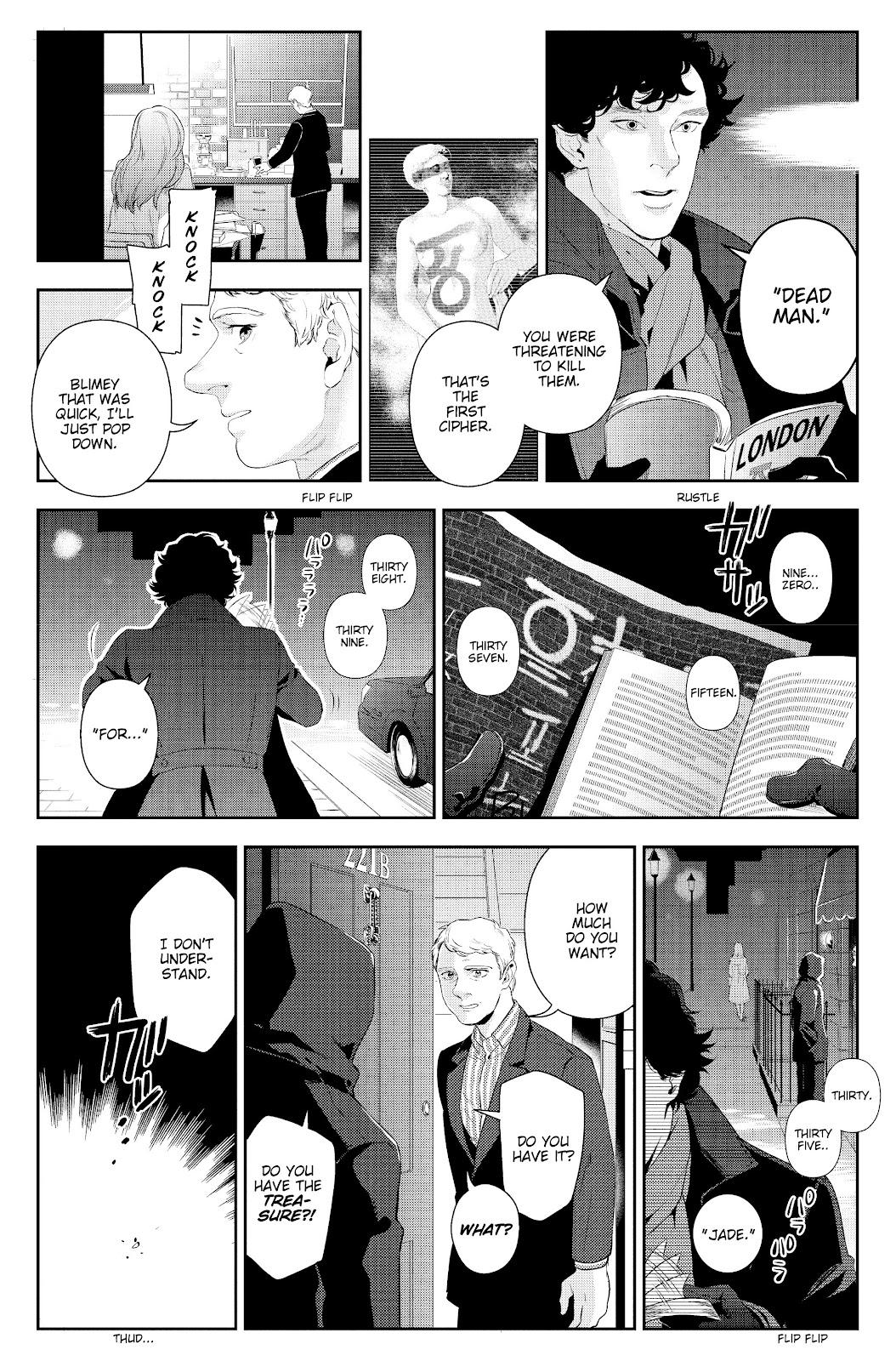 Sherlock: The Blind Banker Issue #5 #5 - English 36