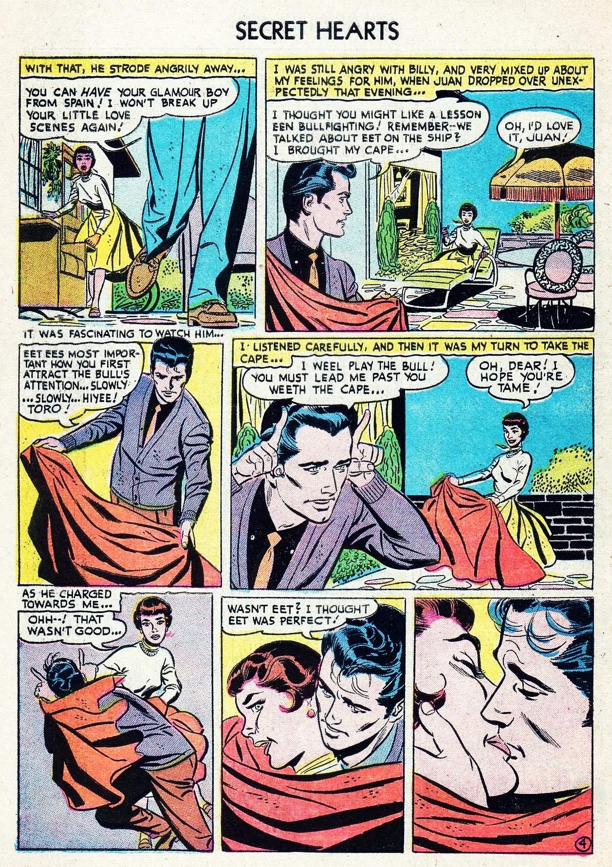 Read online Secret Hearts comic -  Issue #29 - 6