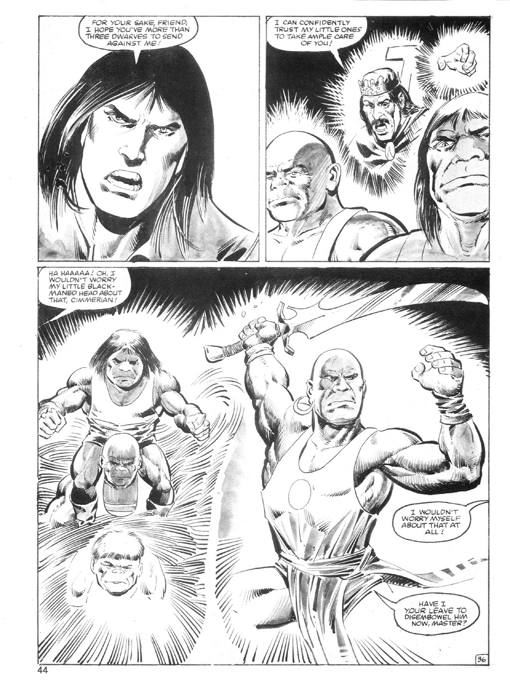 The Savage Sword Of Conan Issue #94 #95 - English 43