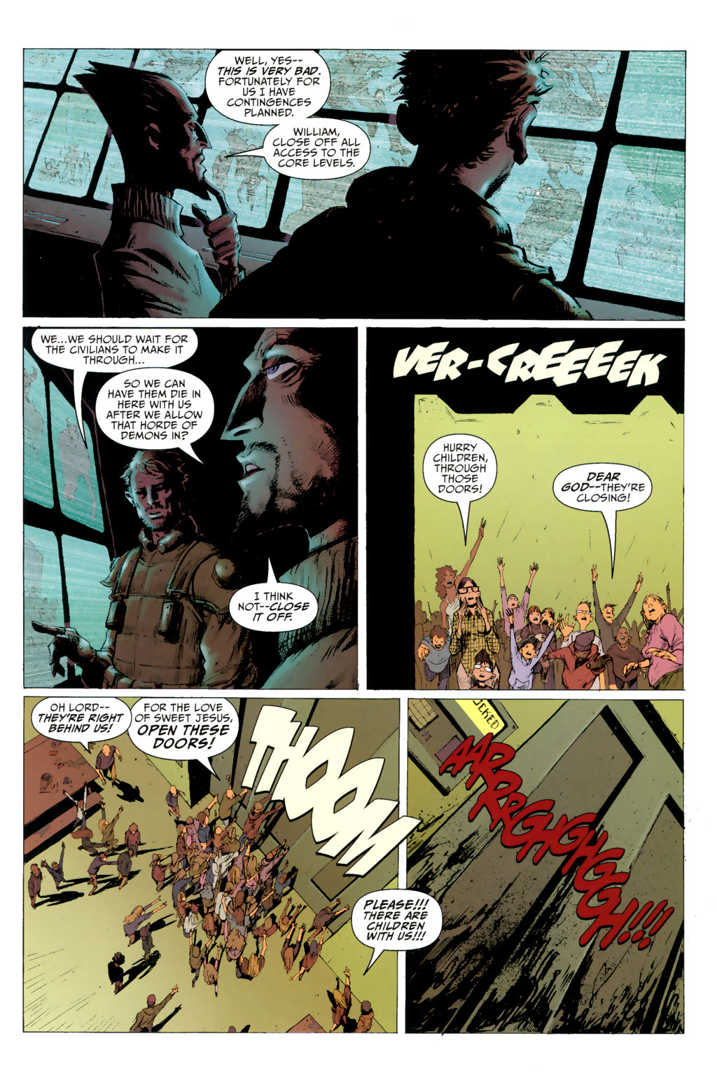Strange Girl Issue #8 #9 - English 7