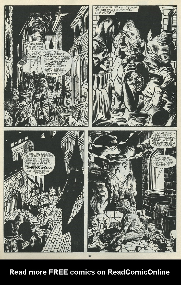 The Savage Sword Of Conan Issue #185 #186 - English 30