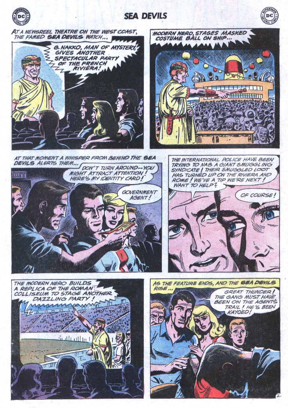Read online Sea Devils comic -  Issue #3 - 5