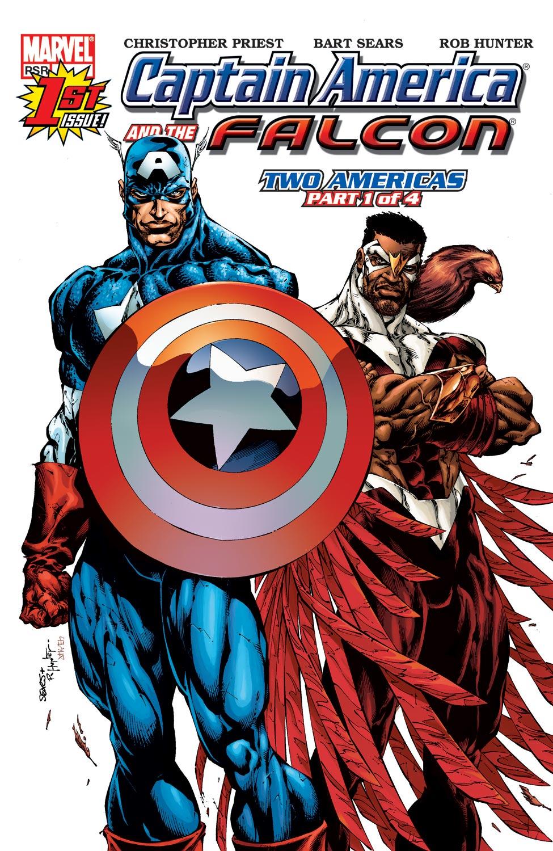 Captain America & the Falcon 1 Page 1