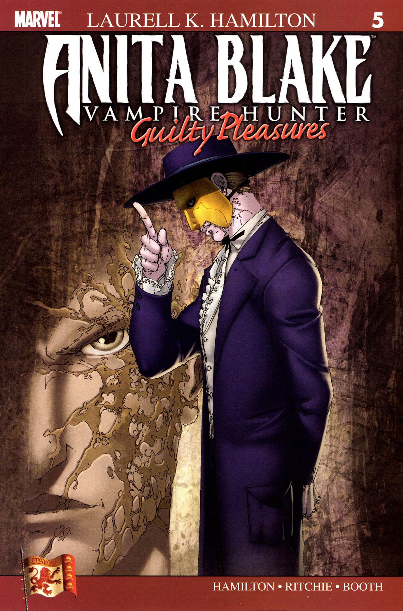 Anita Blake, Vampire Hunter: Guilty Pleasures 5 Page 1