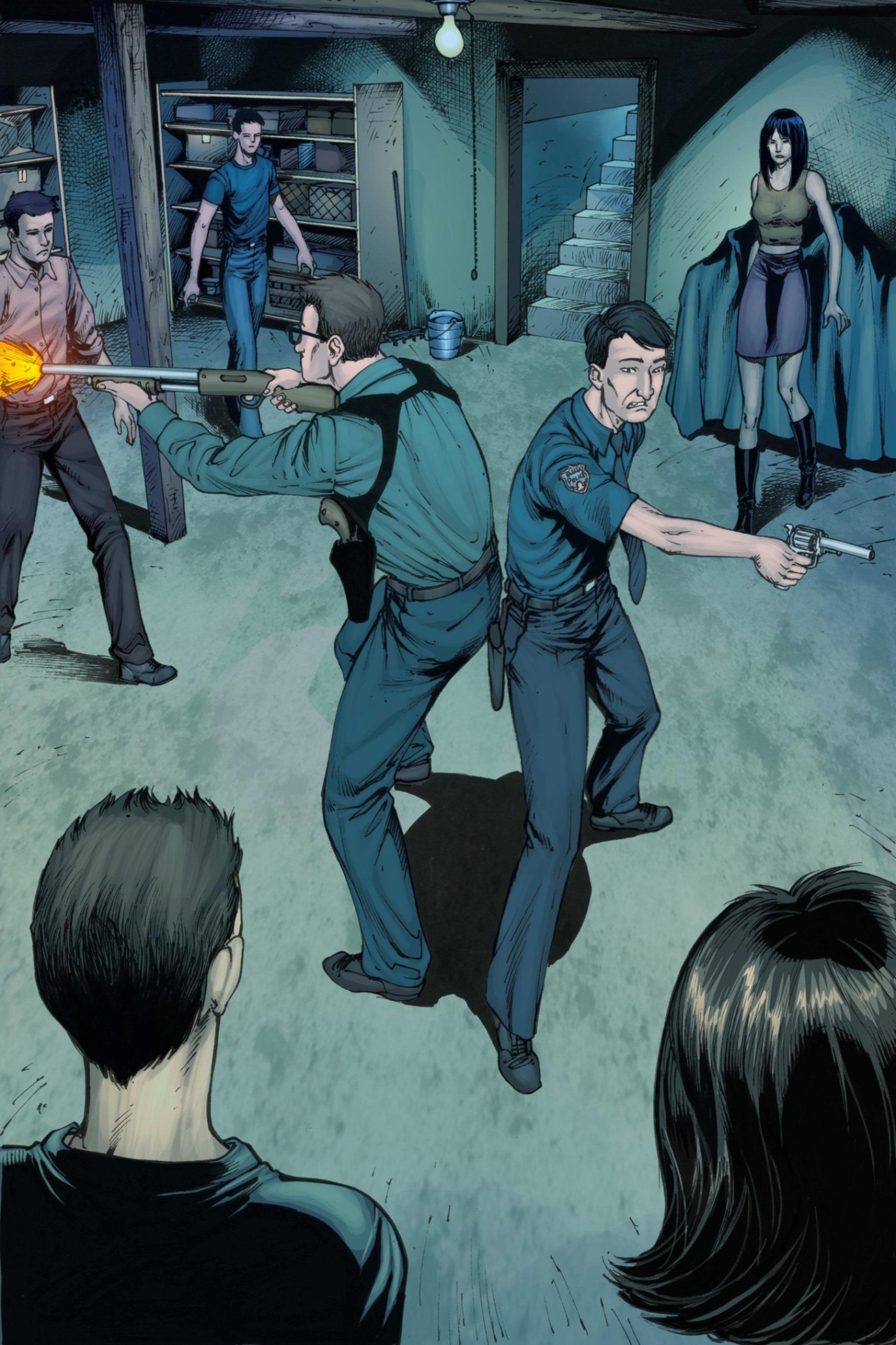 Read online Z-Men comic -  Issue #3 - 82
