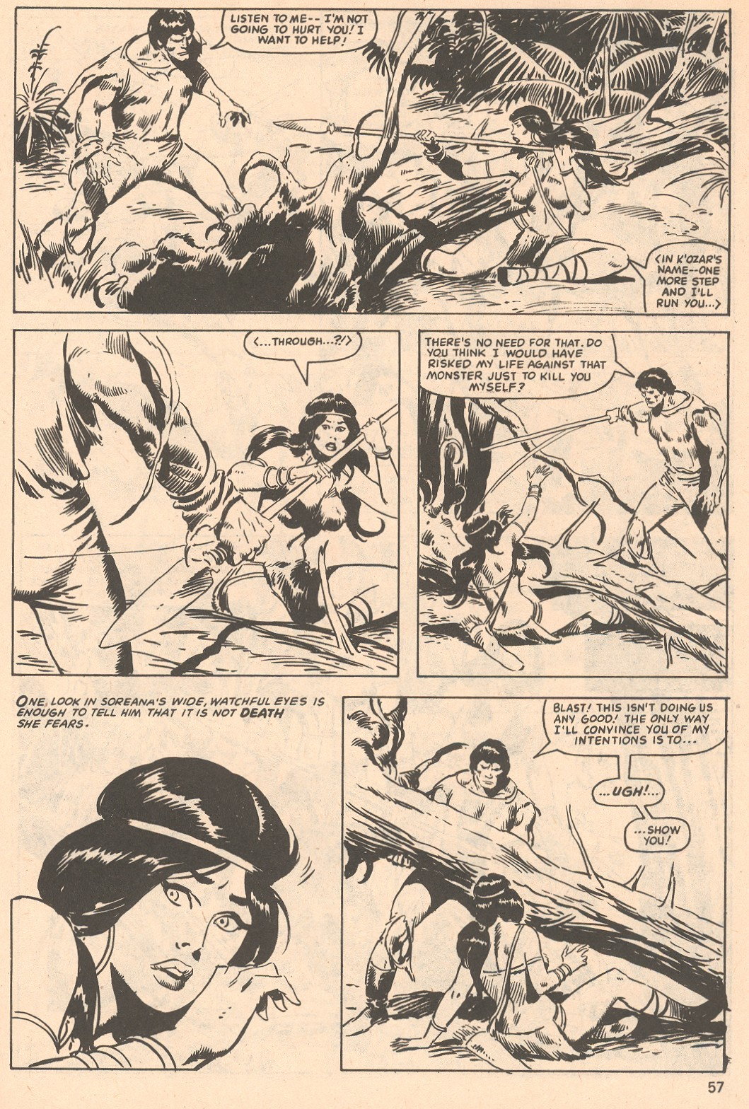 The Savage Sword Of Conan Issue #66 #67 - English 57
