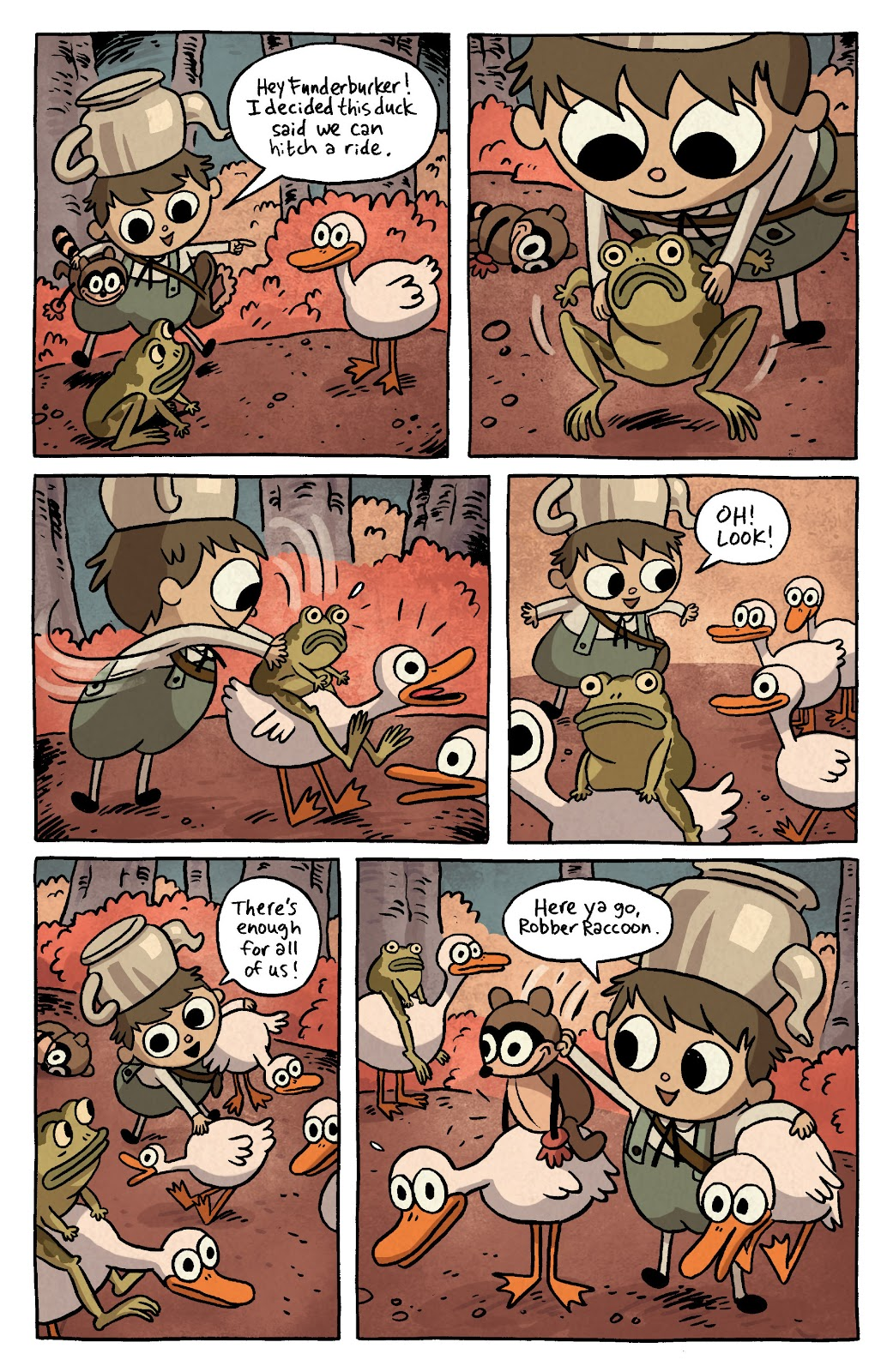 Over the Garden Wall (2016) Issue #3 #3 - English 4