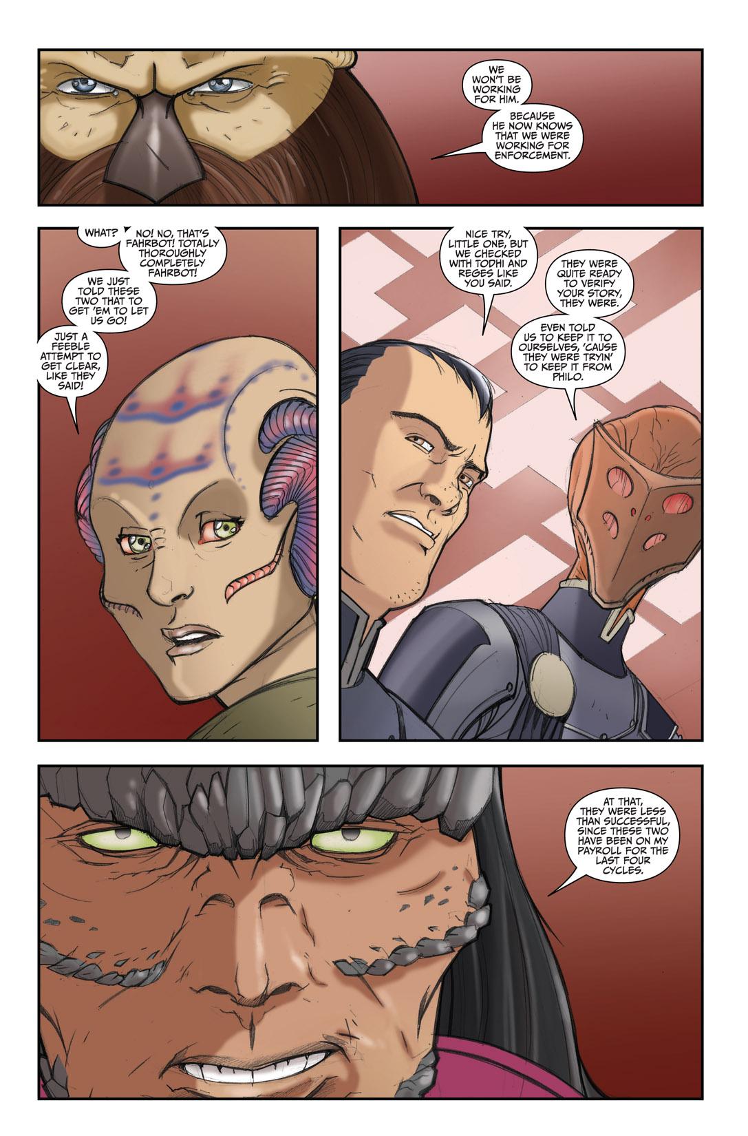Read online Farscape: D'Argo's Quest comic -  Issue #4 - 14