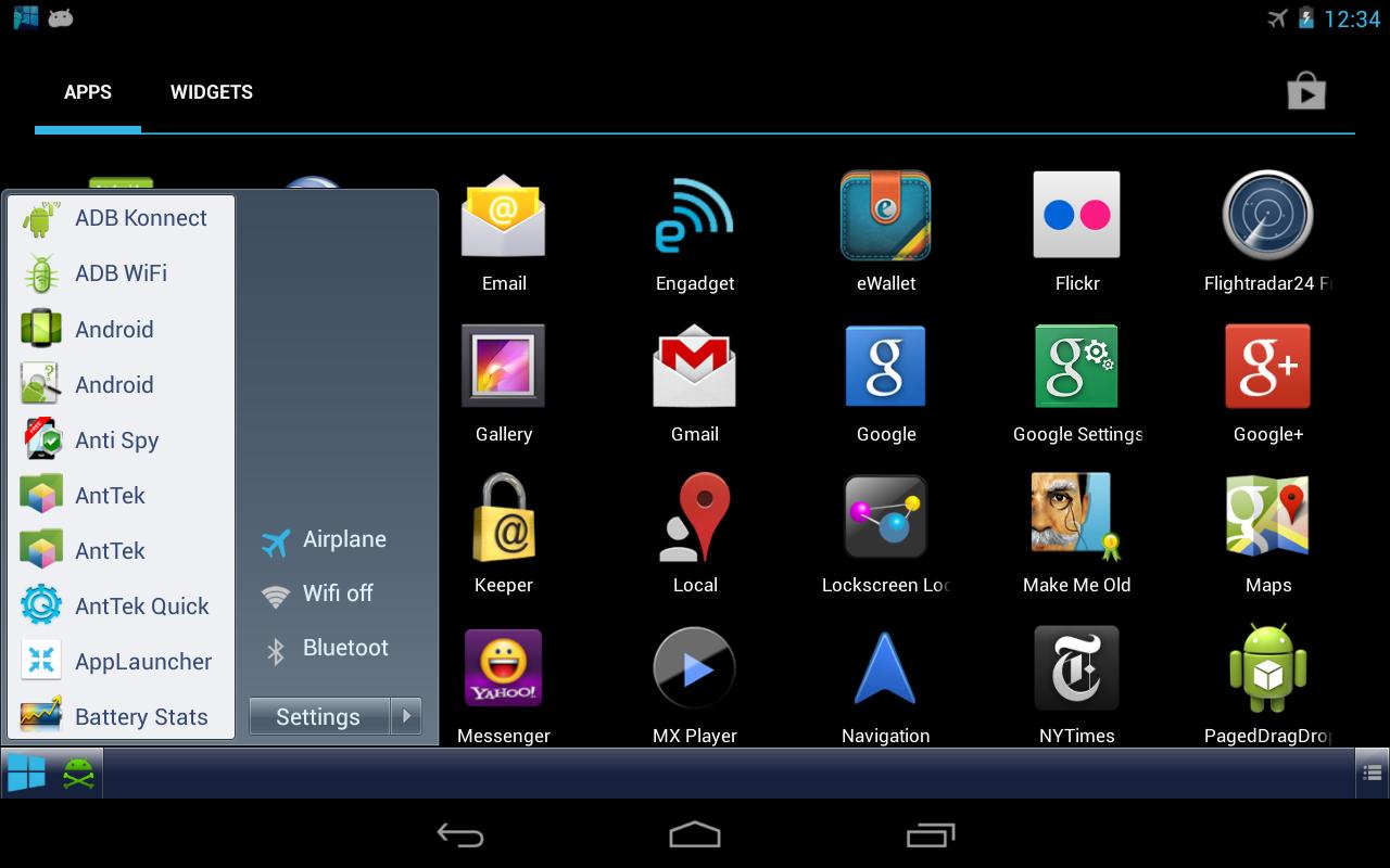 Taskbar Windows 8 Style
