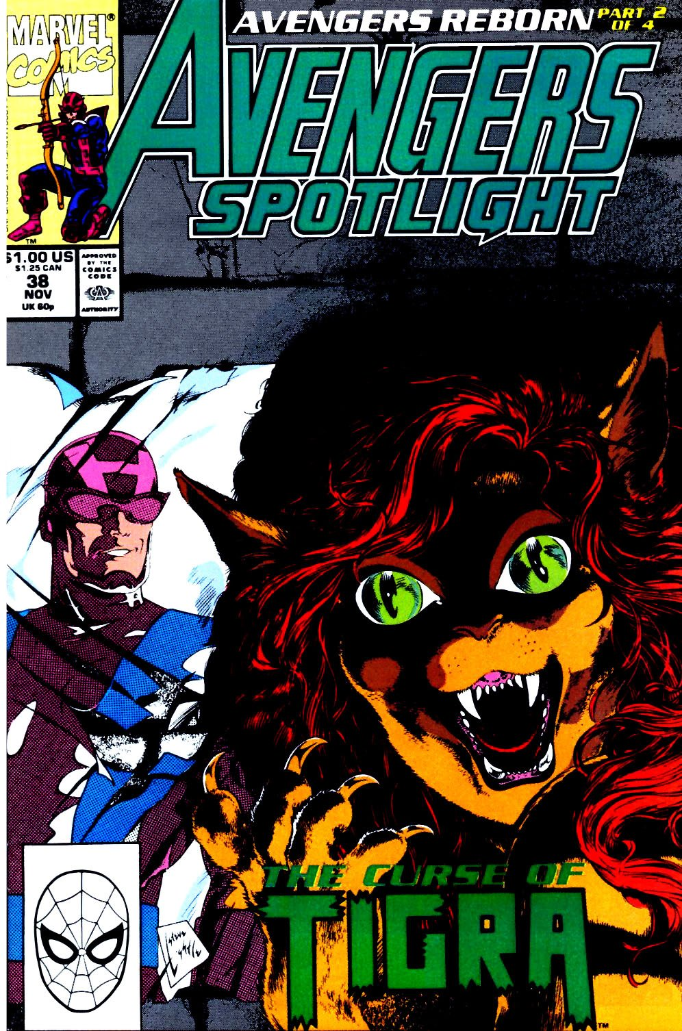 Avengers Spotlight 38 Page 1