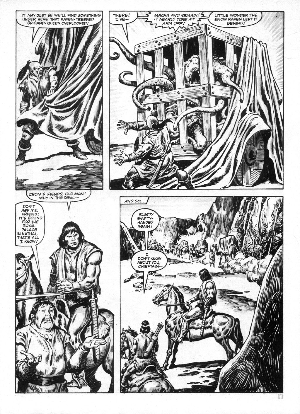 The Savage Sword Of Conan Issue #95 #96 - English 11