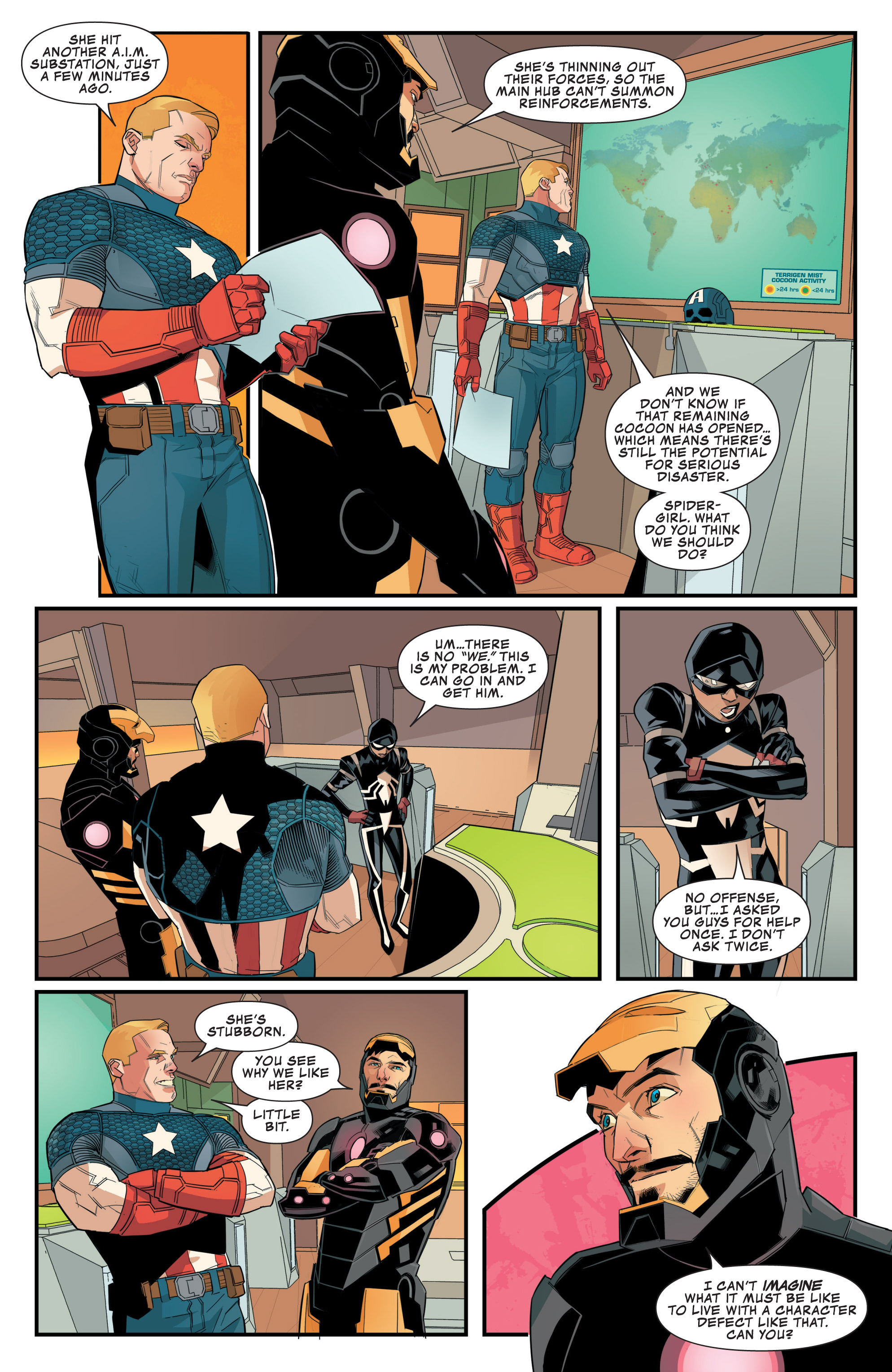 Read online Avengers Assemble (2012) comic -  Issue #24 - 18