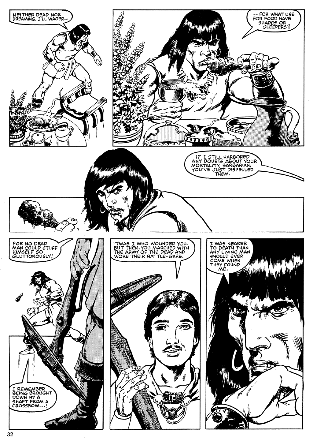 The Savage Sword Of Conan Issue #110 #111 - English 31