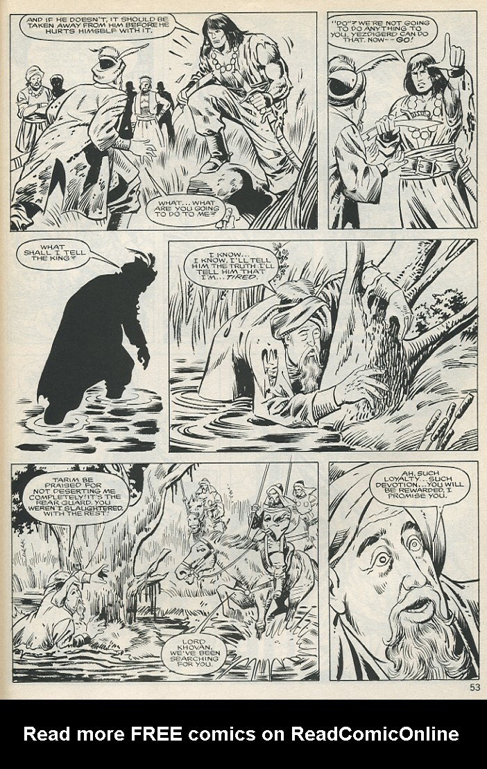 The Savage Sword Of Conan Issue #131 #132 - English 53