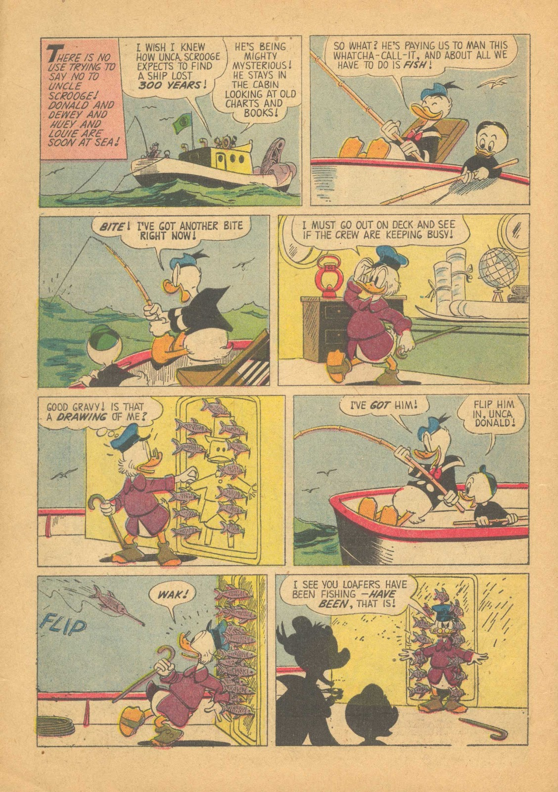 Uncle Scrooge (1953) Issue #25 #25 - English 6