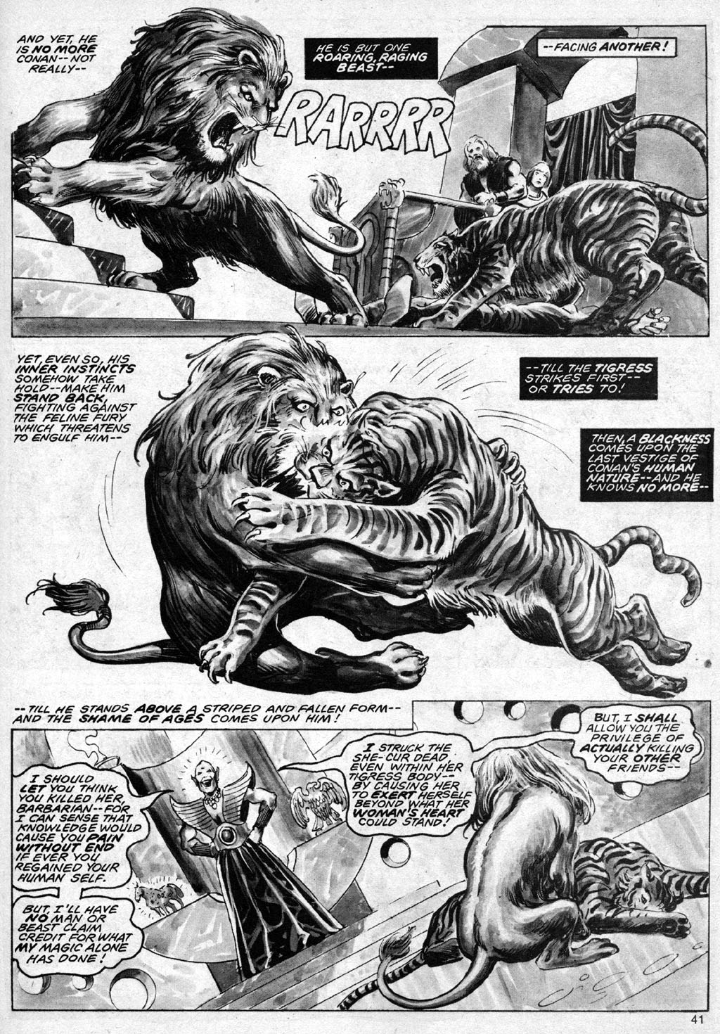 The Savage Sword Of Conan Issue #69 #70 - English 41