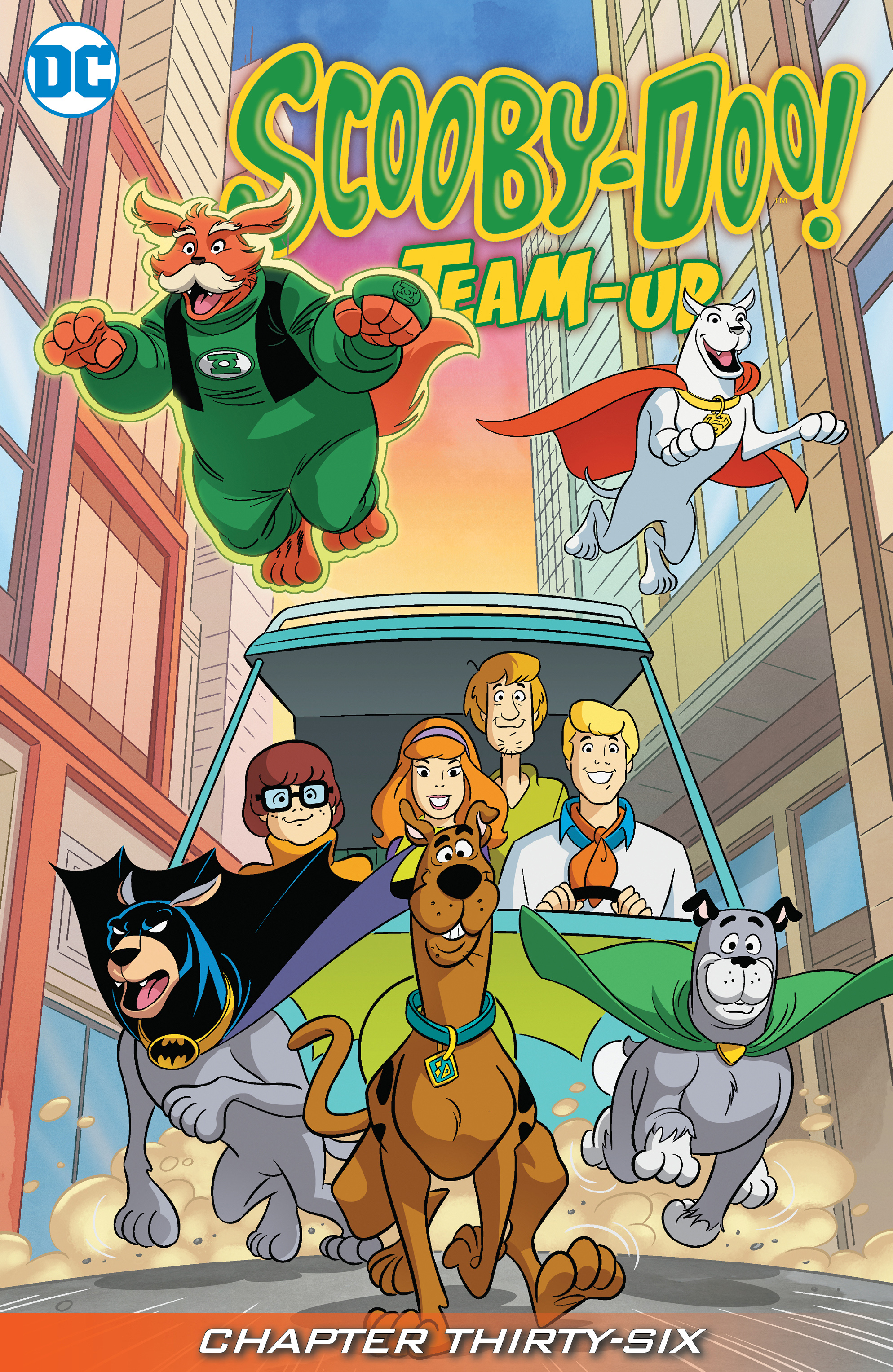 Read online Scooby-Doo! Team-Up comic -  Issue #36 - 2