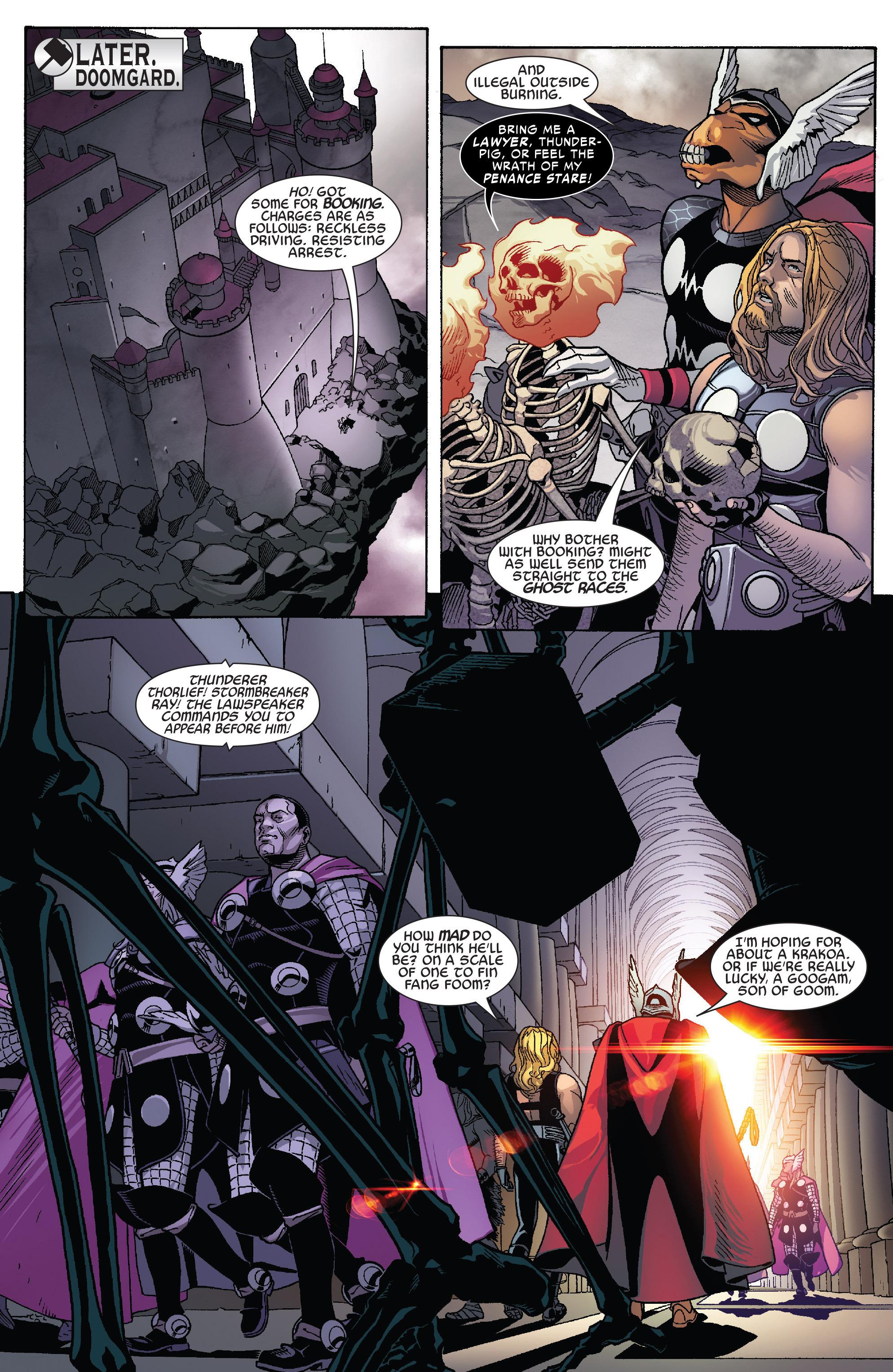 Thors #1 #4 - English 11