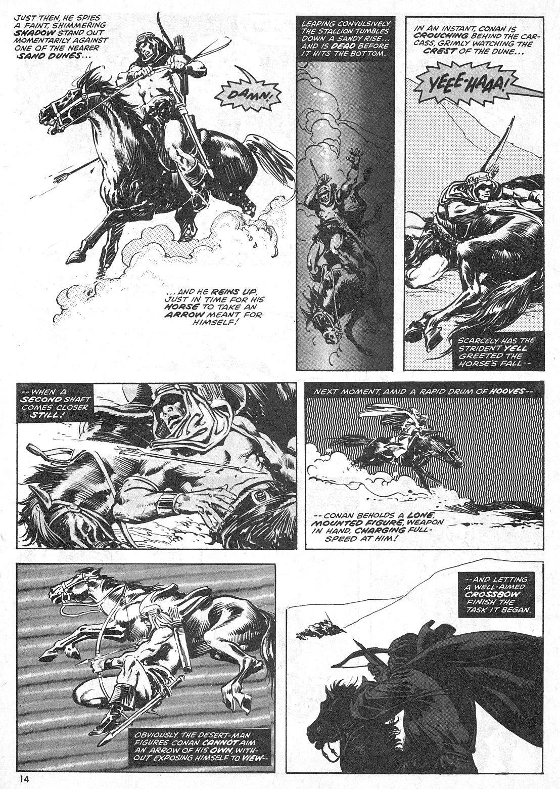 The Savage Sword Of Conan Issue #28 #29 - English 14