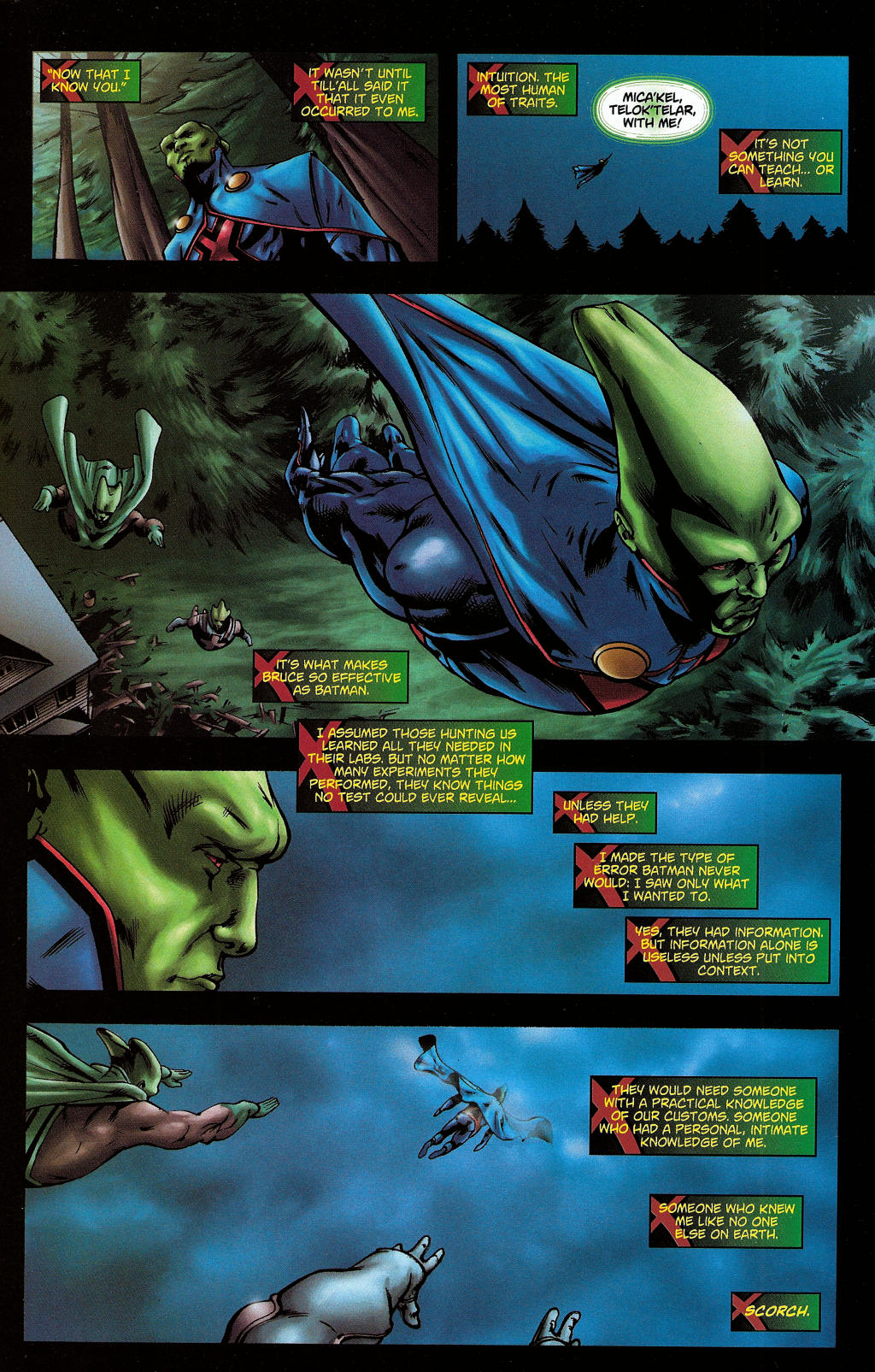 Read online Martian Manhunter (2006) comic -  Issue #5 - 27
