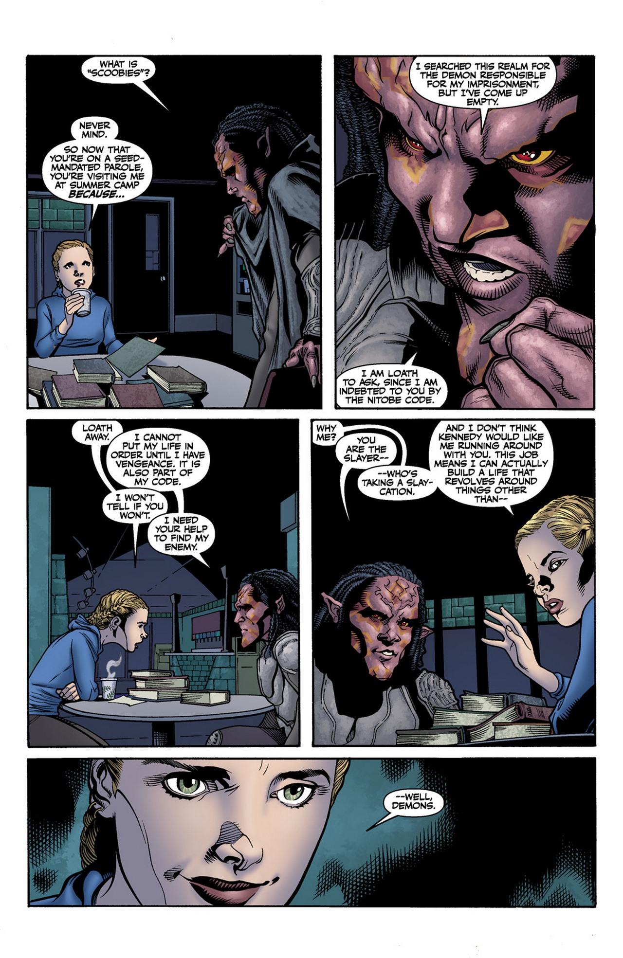 Read online Buffy the Vampire Slayer Season Nine comic -  Issue #11 - 13