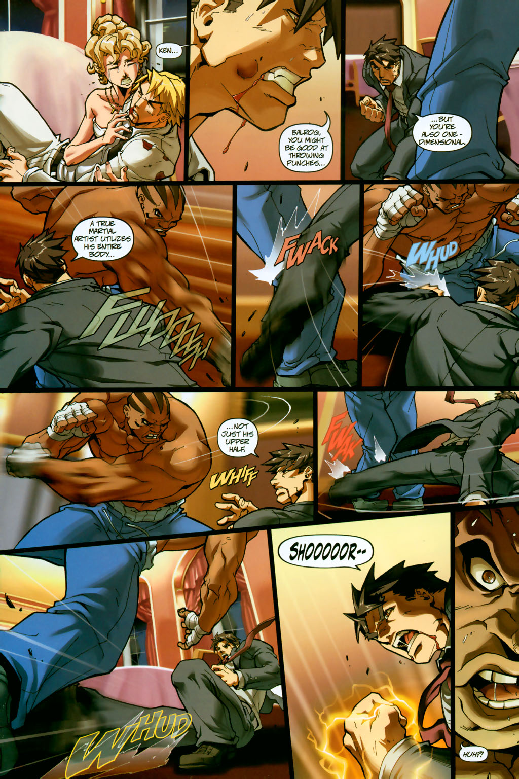 Street Fighter (2003) Issue #14 #15 - English 9